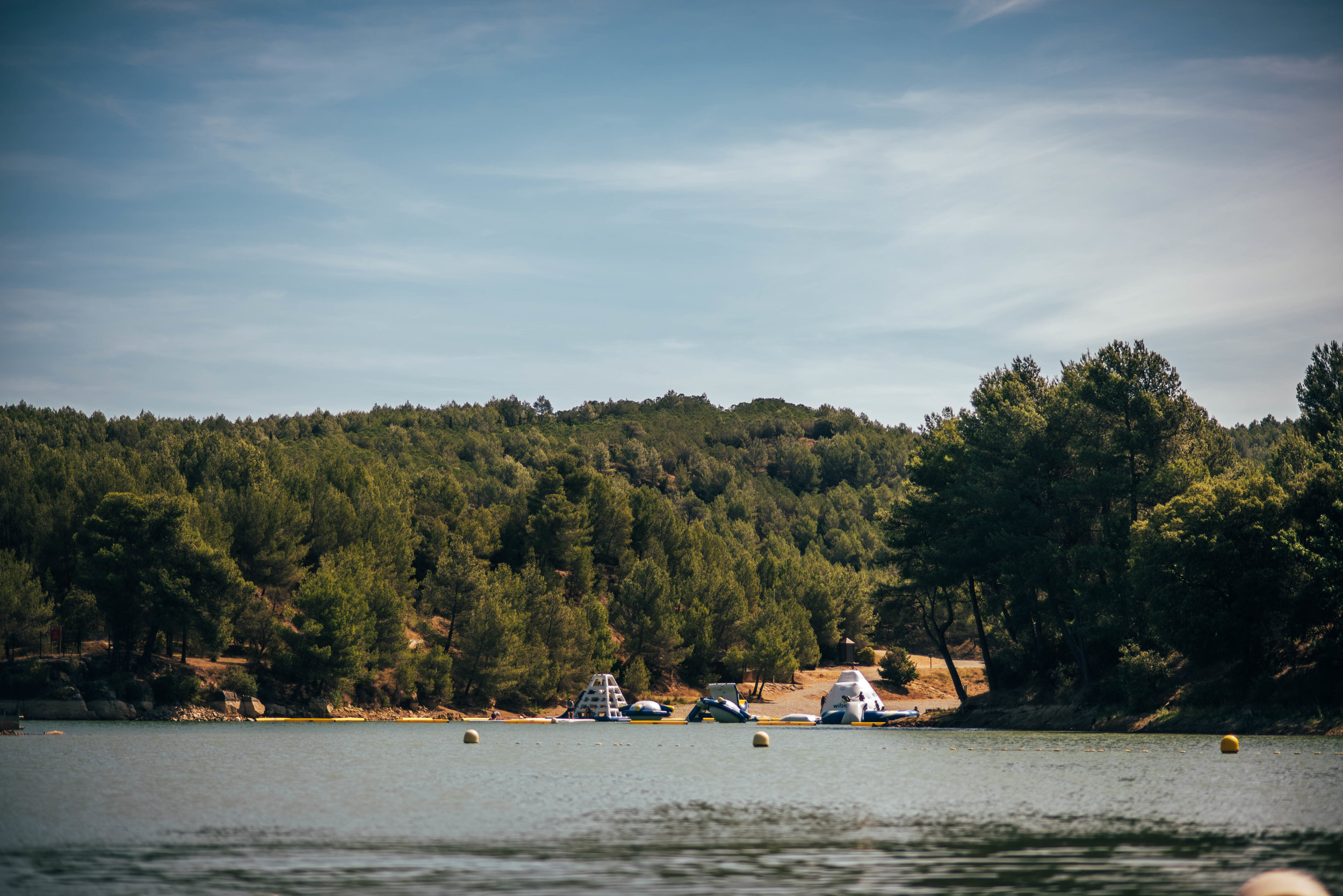 Lake in France Essex UK Documentary Photographer