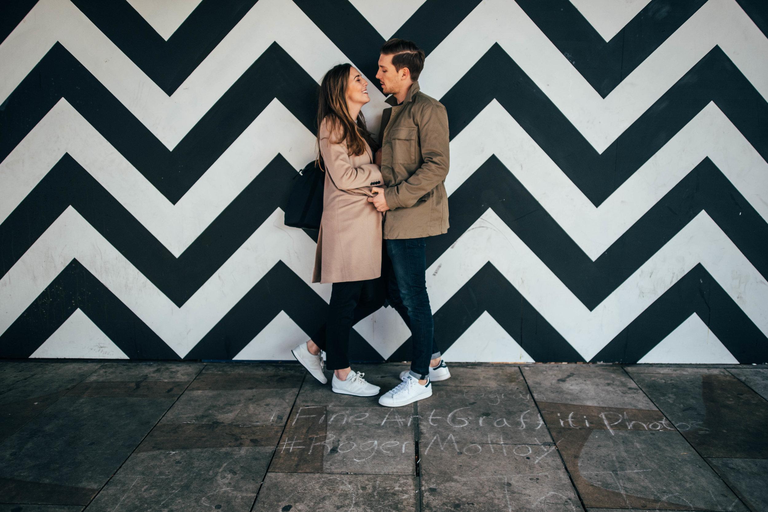 Modern Urban Shoreditch Love Shoot Essex UK Documentary Wedding Photographer