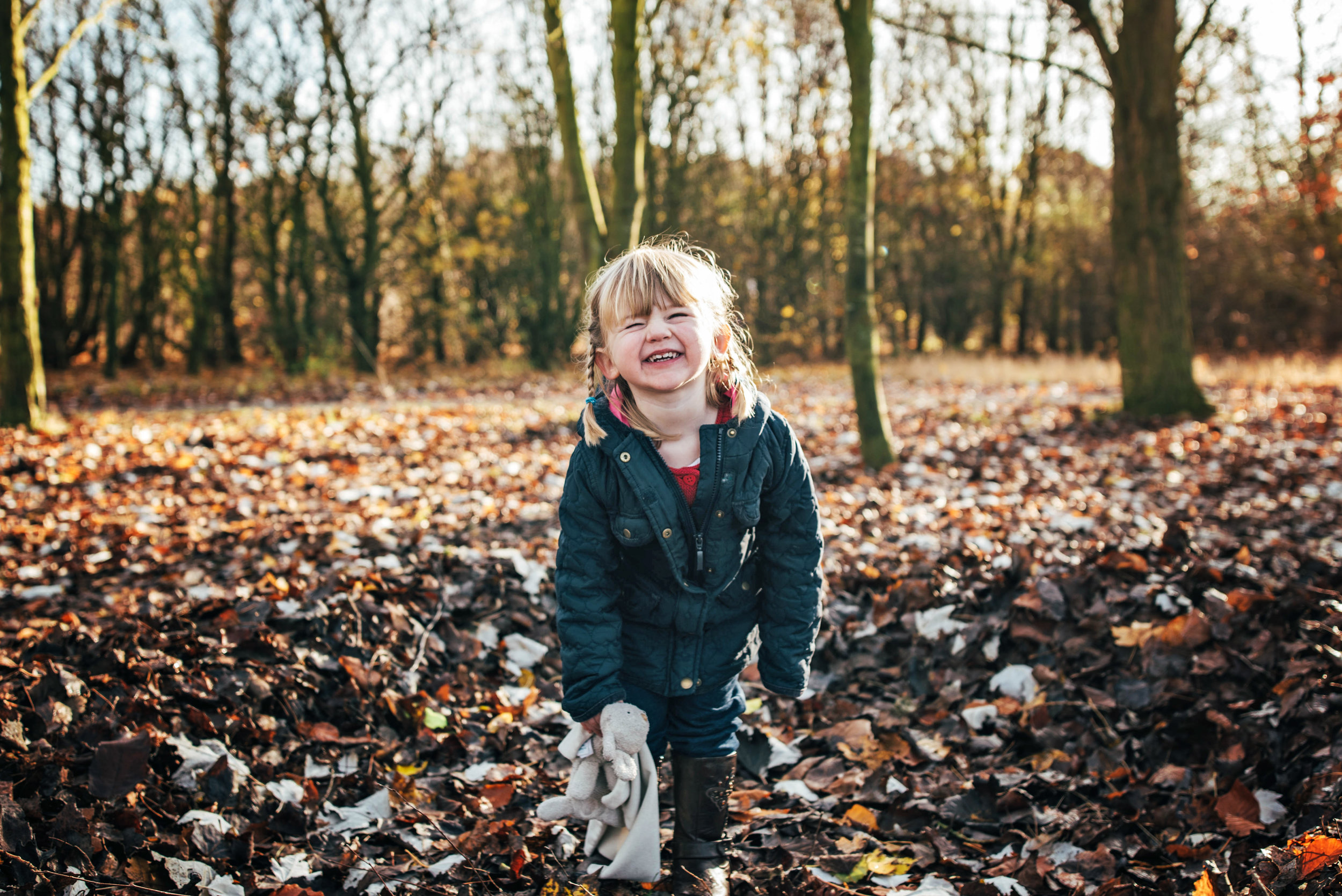 Family Autumn Lifestyle Portrait Shoot Great Notley Discovery Centre Essex UK Documentary Family Photographer
