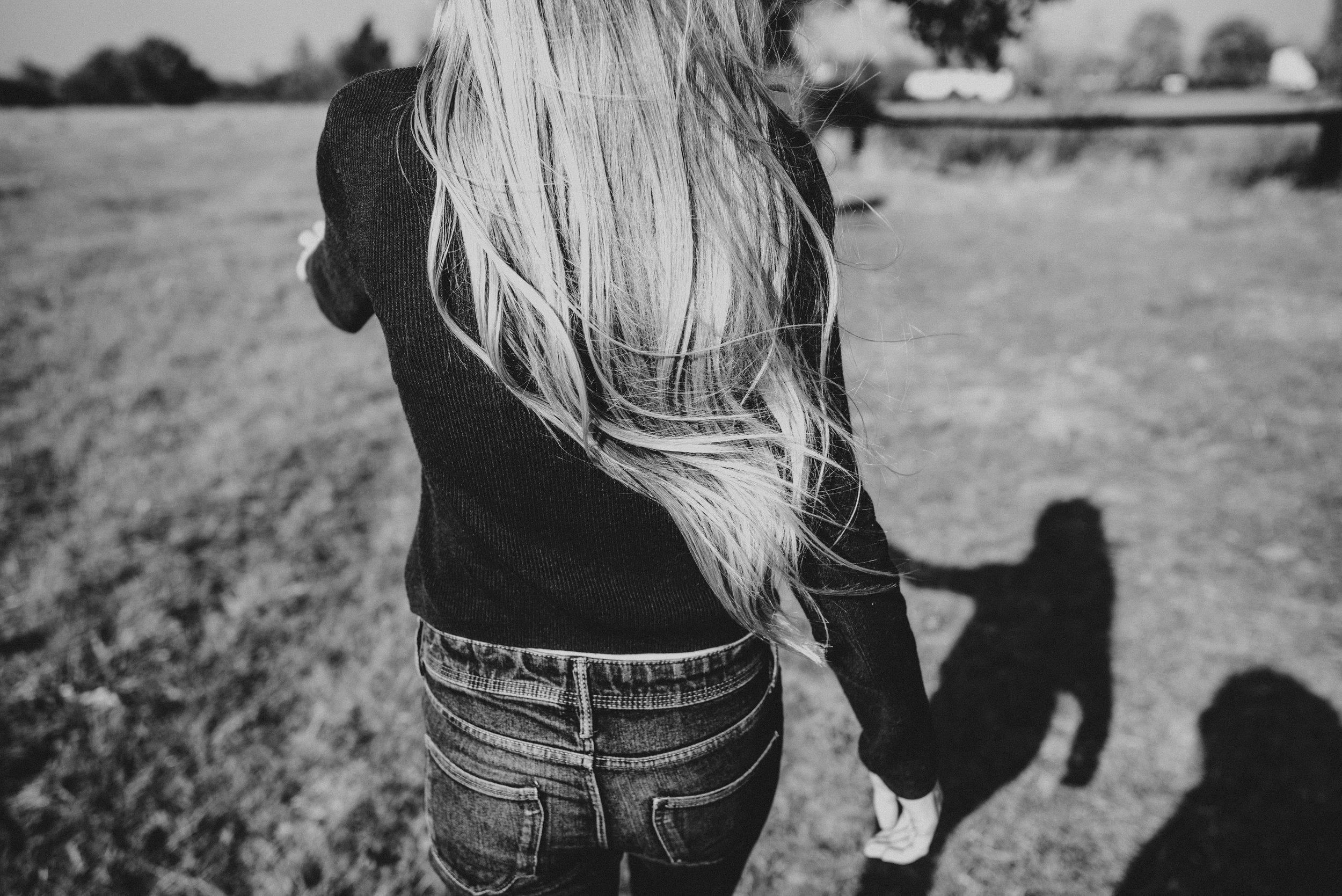 Teen girls long hair billowing Essex UK Documentary Wedding Photographer