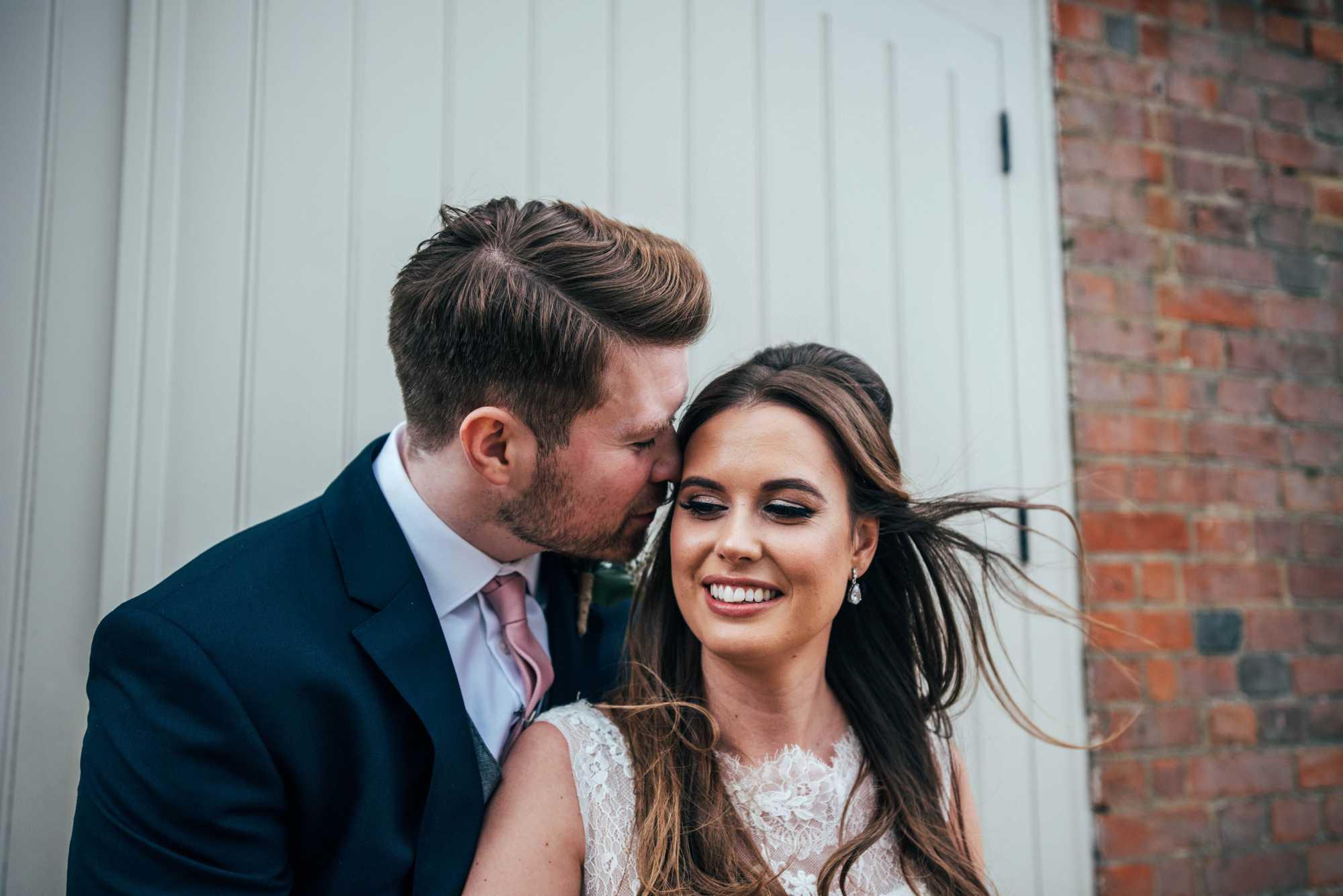 Rustic Barn Wedding with Contemporary twist at Blake Hall. Bride wears Pronovias. Essex Documentary Wedding Photographer.