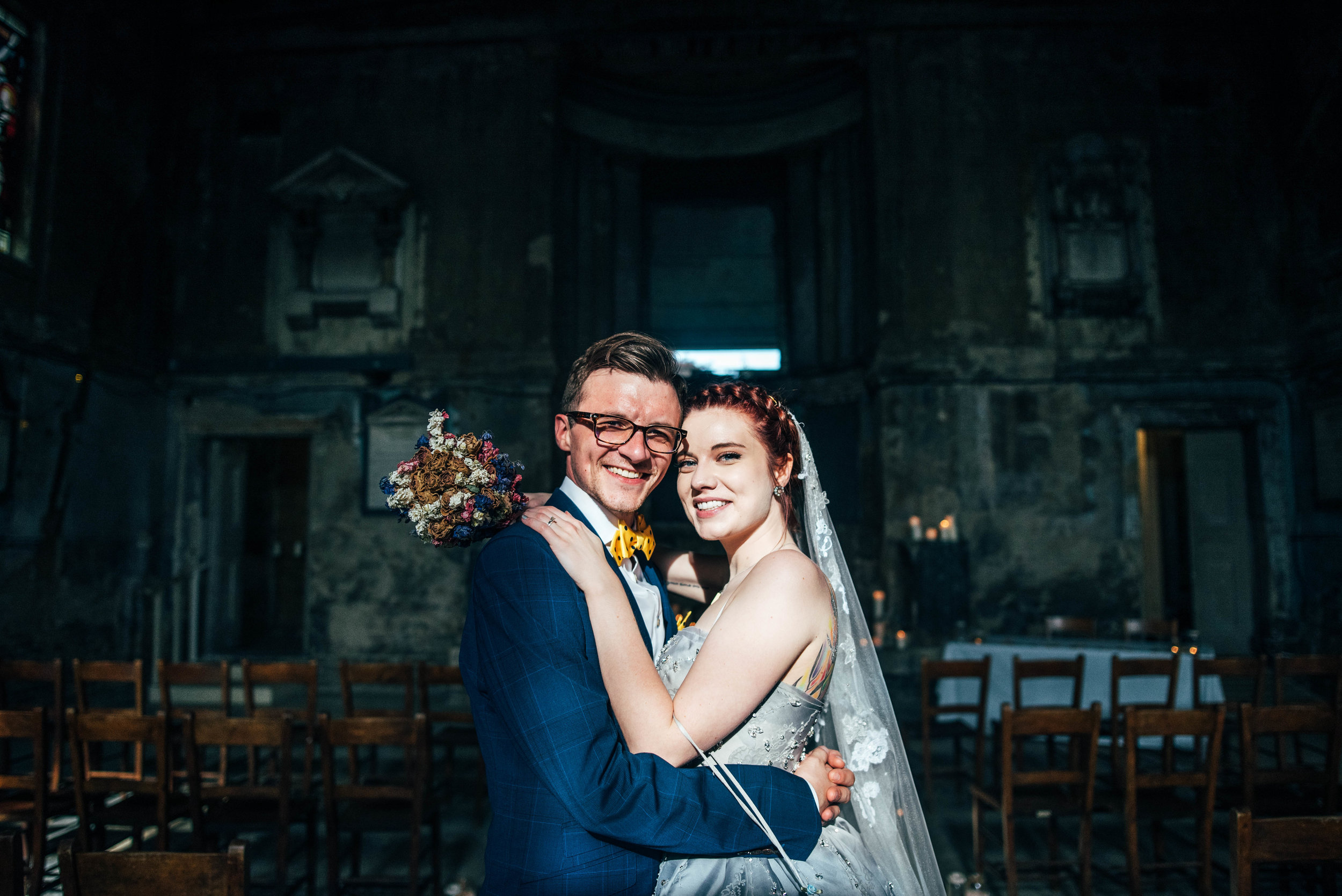 Bride and Groom Asylum London Essex Documentary Wedding Photographer