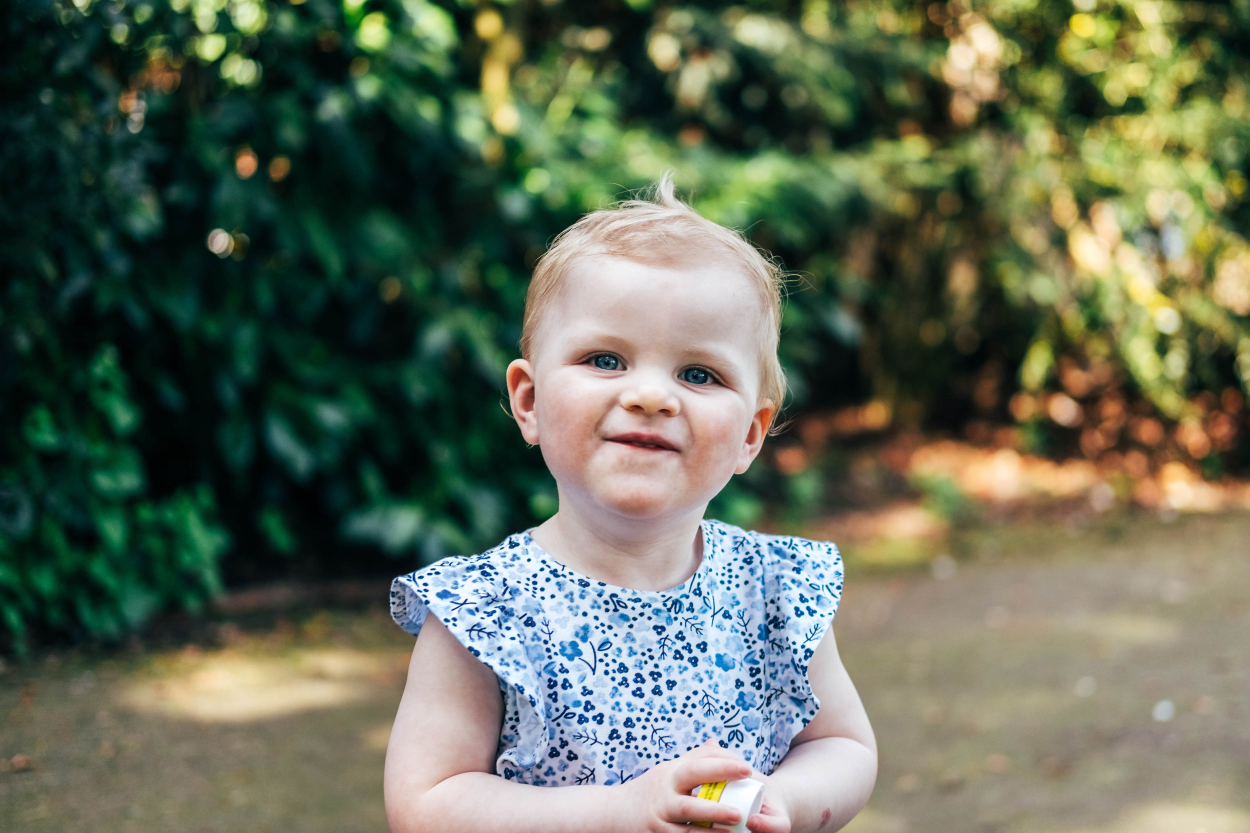 Baby in park in Spring Essex & London Documentary Family Photographer Lifestyle