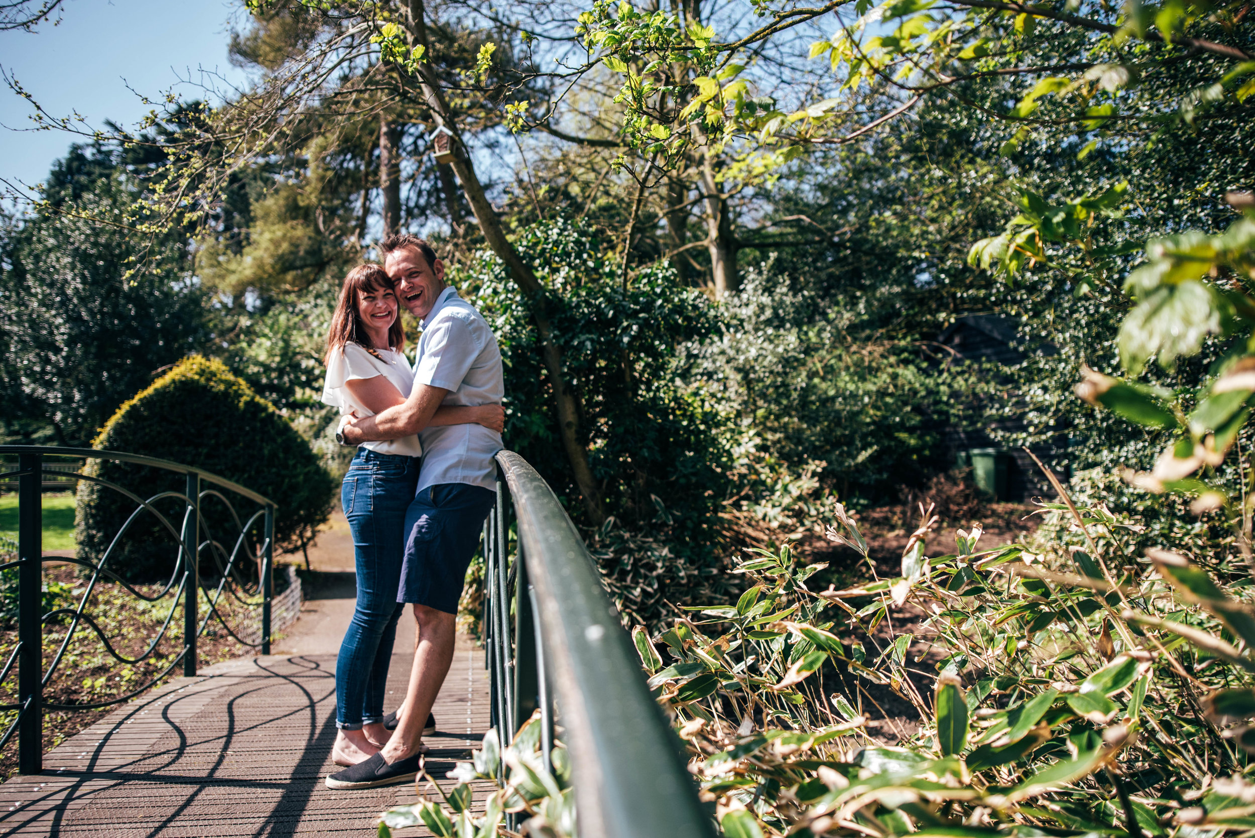 Couple in park in Spring Essex & London Documentary Family Photographer Lifestyle
