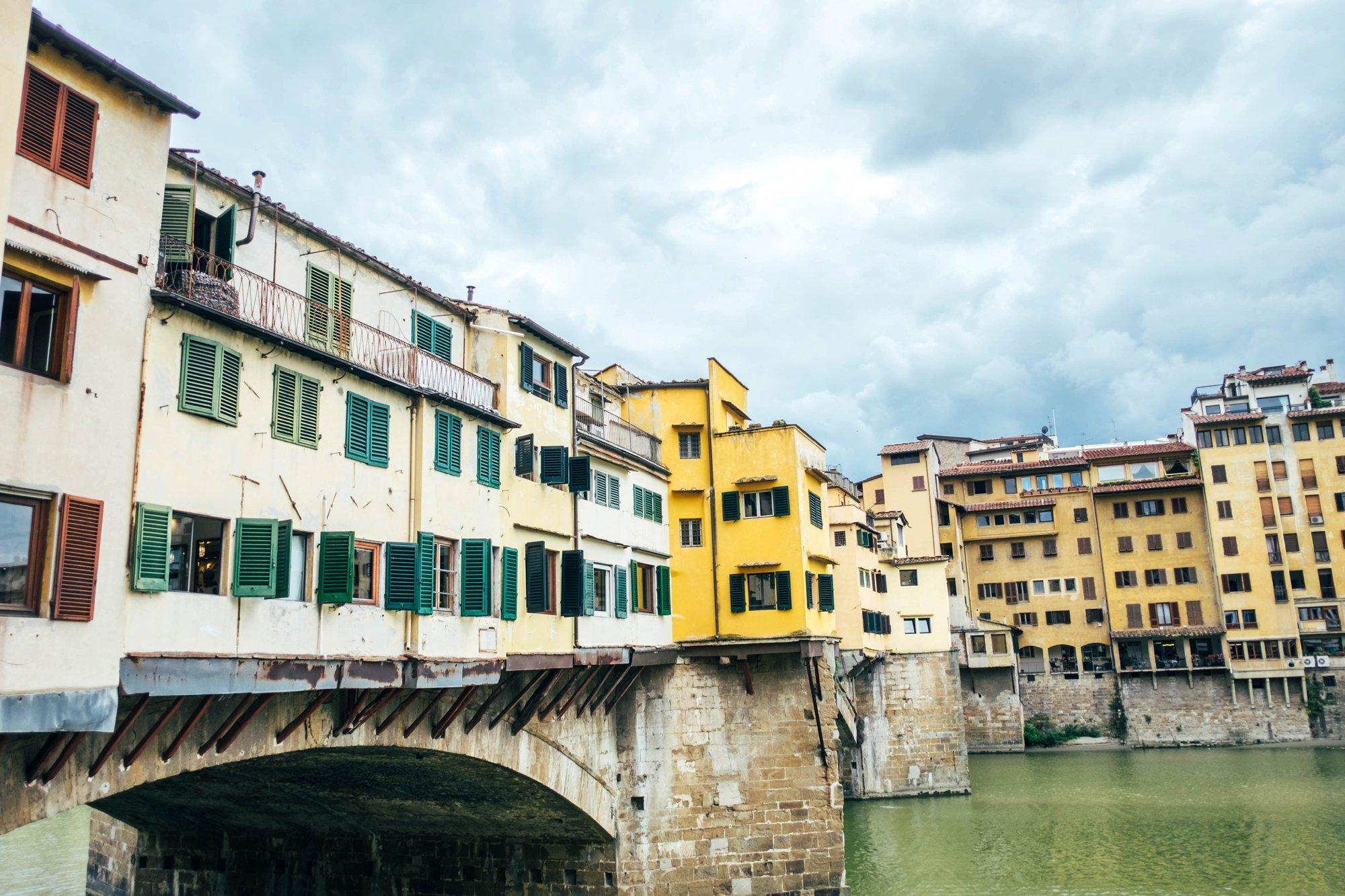 Ponte Vecchio Florence Essex Documentary Travel Photographer