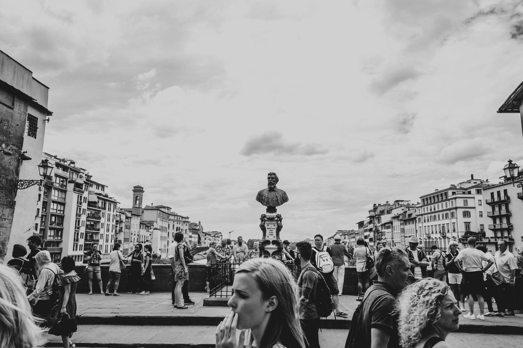 Ponte Vecchio Florence Essex Documentary Wedding Travel Photographer