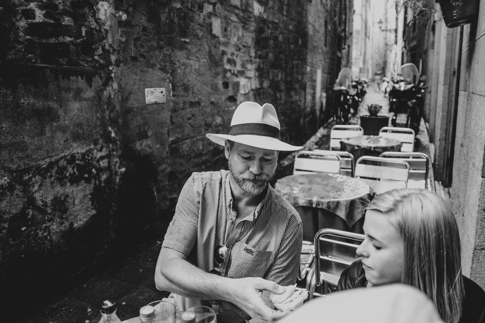 Cafe Florence Italy Essex Documentary Wedding Travel Photographer