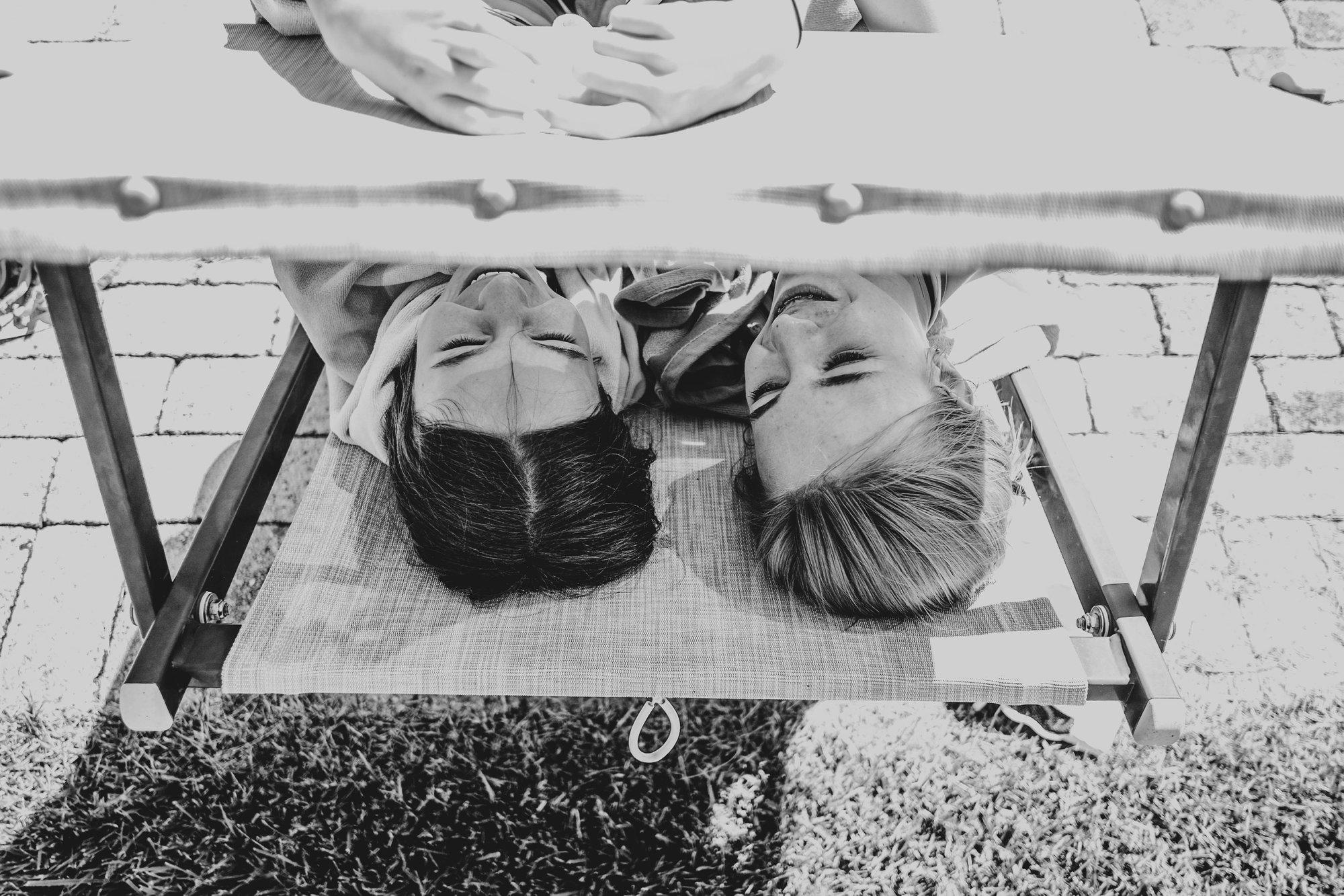 Kids under sun lounger Tuscany Essex Documentary Wedding Travel  Photographer