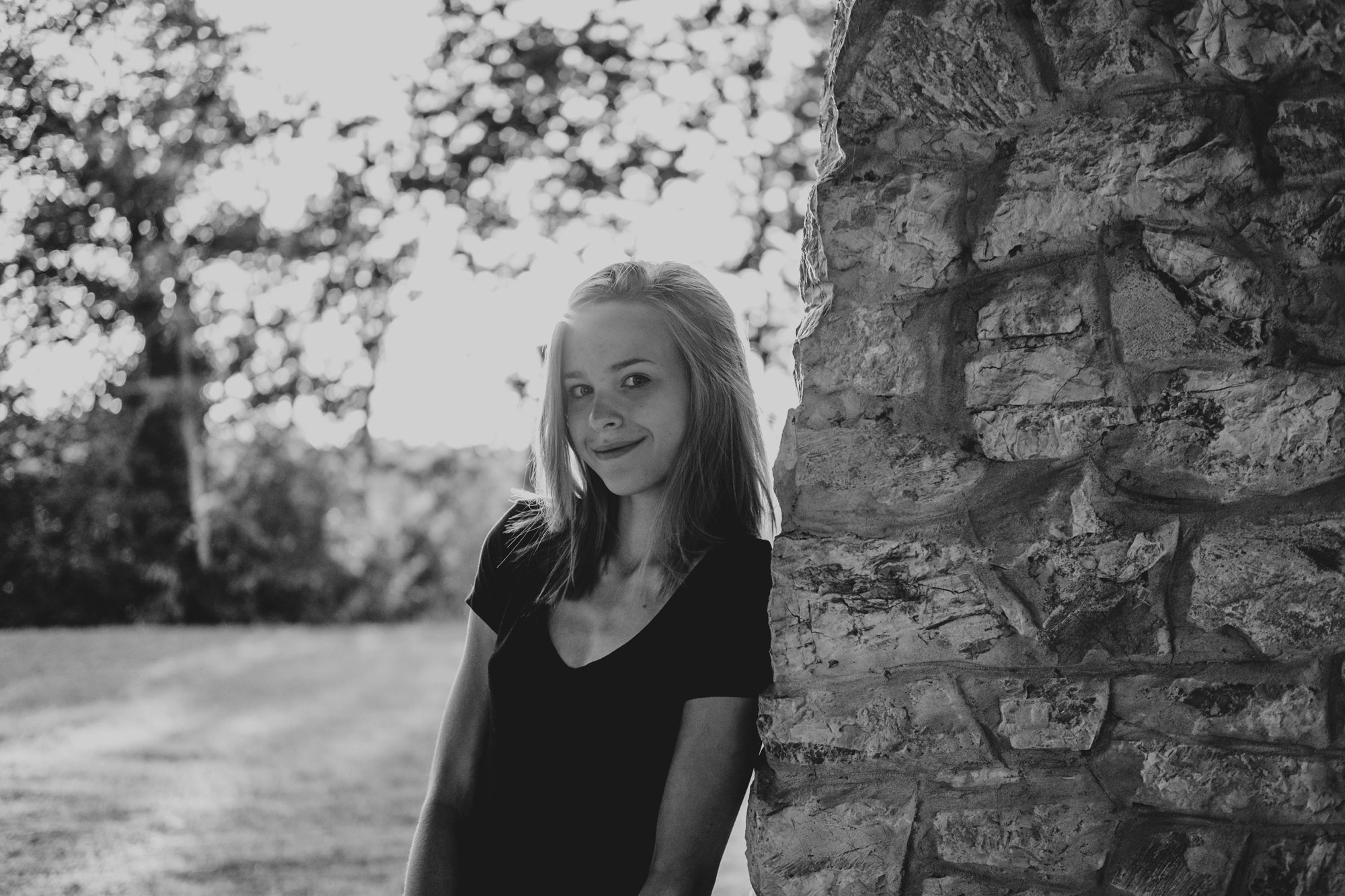 Teen girl at Sunset in Tuscany Essex Documentary Wedding Travel Family Photographer