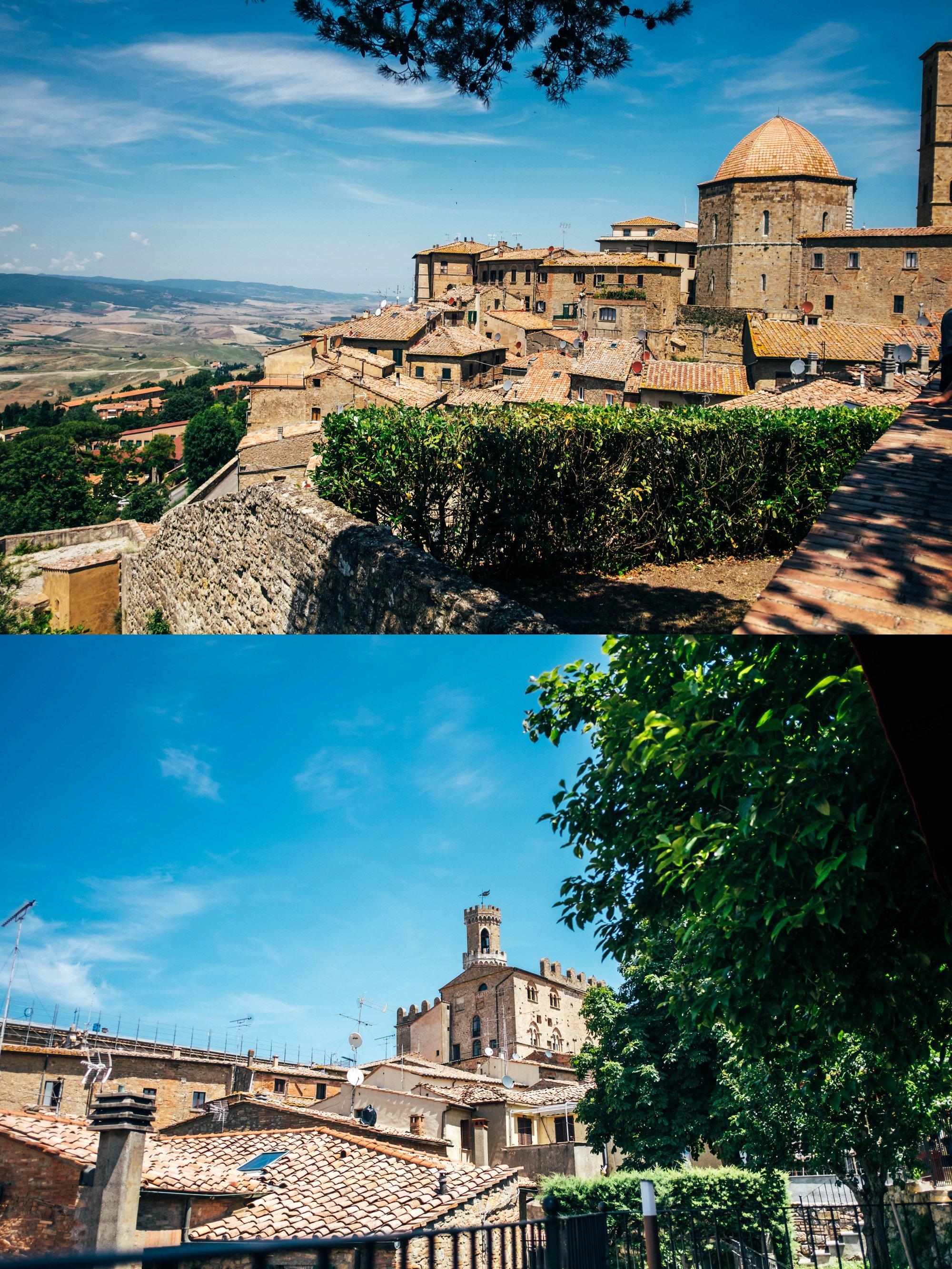Volterra Rooftops Tuscany Essex Documentary Wedding Travel Photographer