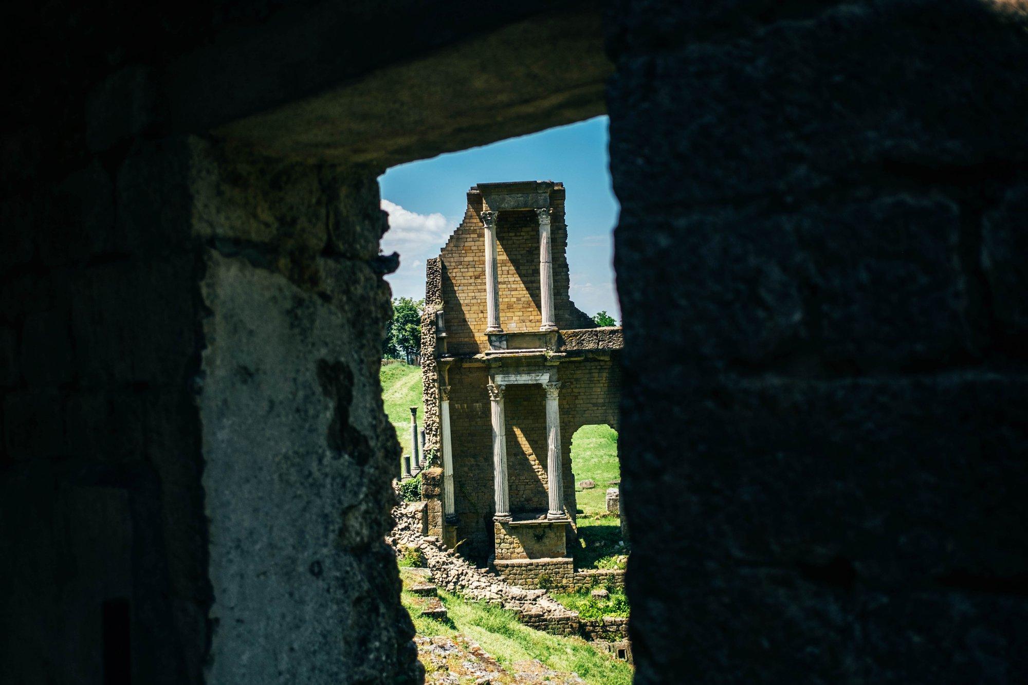 Roman ruins Volterra Tuscany Essex Documentary Travel Photographer