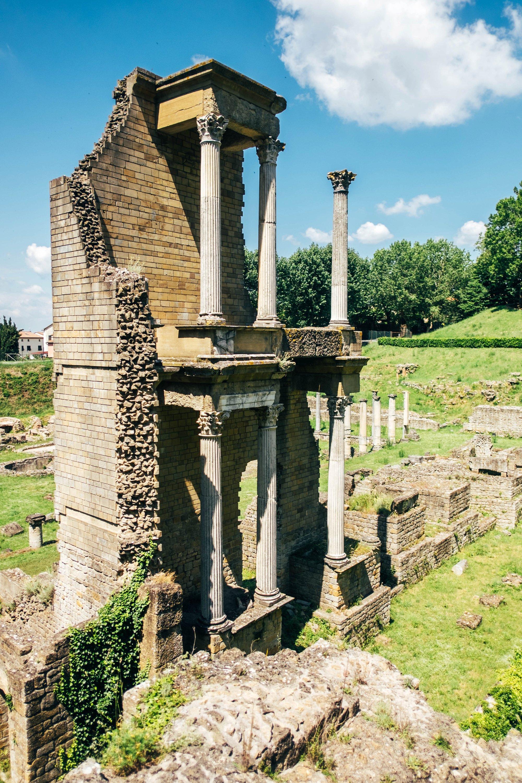Roman Ruins Volterra Essex Documentary Travel Photographer