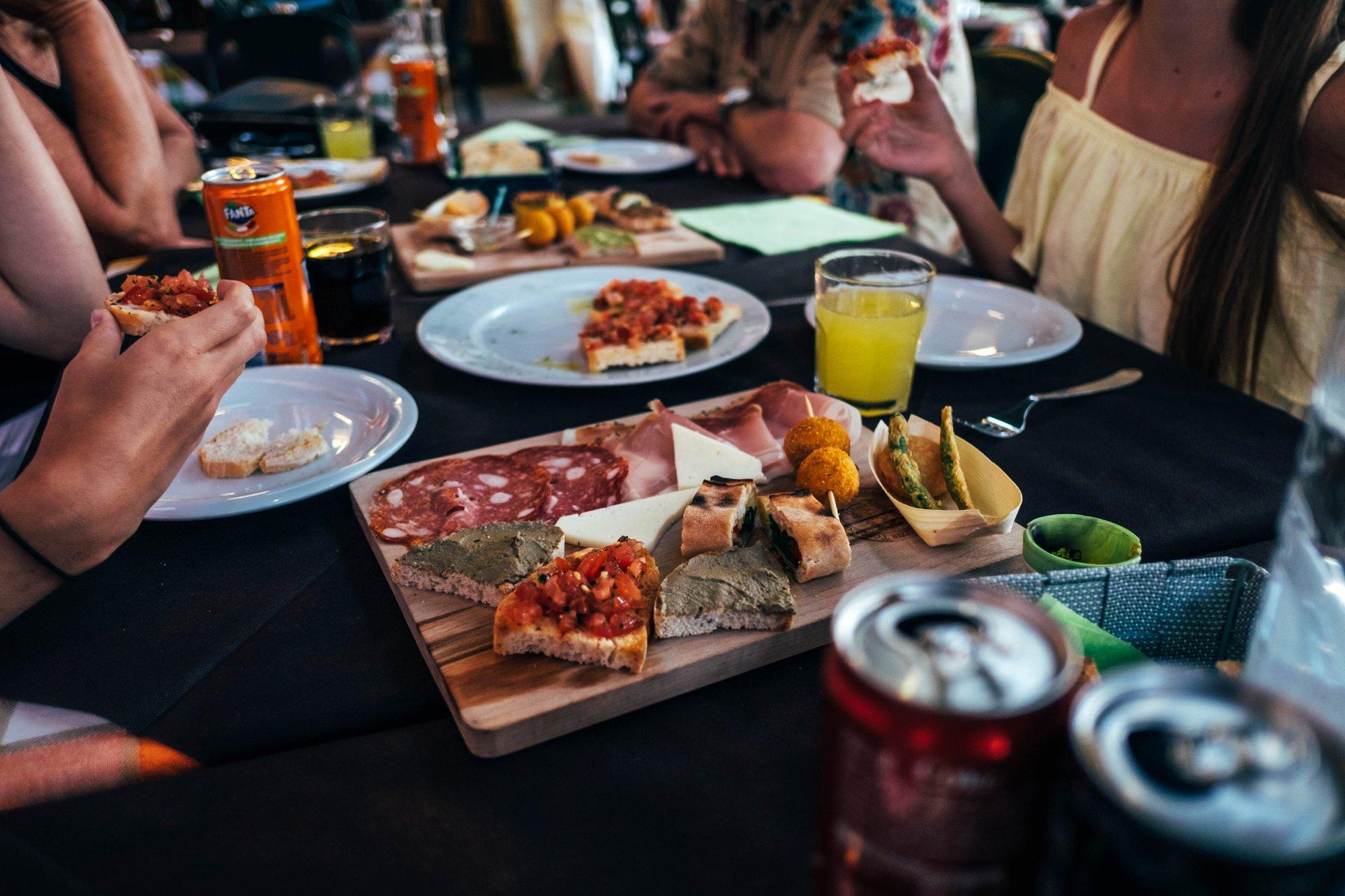 Tuscan food Essex Documentary Travel photographer