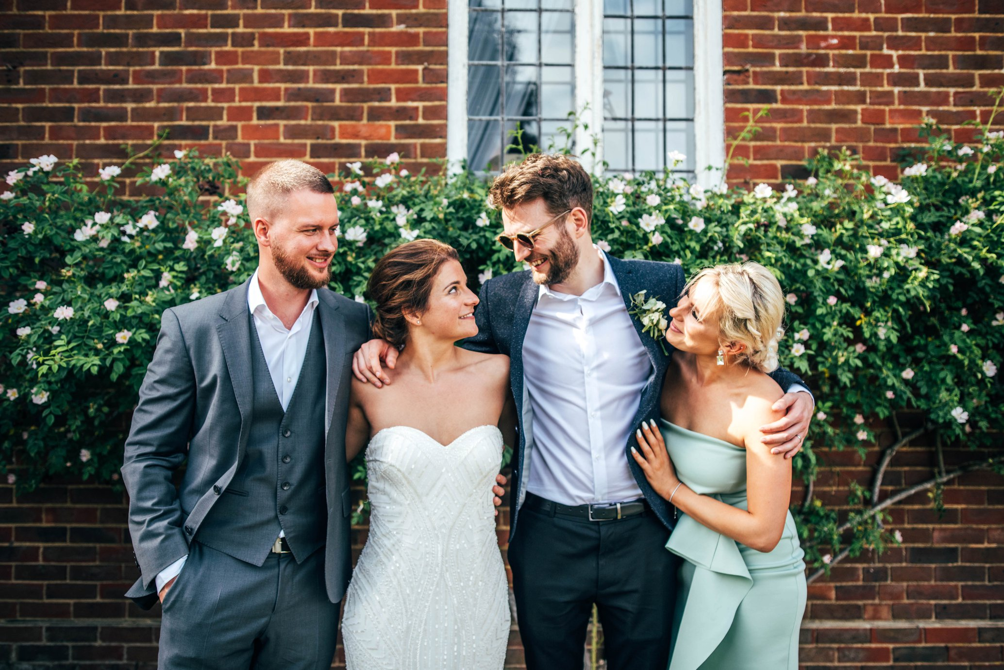 DIY Village Hall Wedding Whites and Greens with Festoons. CharterHouse School Godalming & Chichester Hall Witley Essex Documentary Wedding Photographer