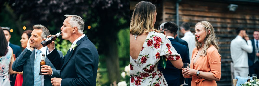 July Wedding at Houchins Coggeshall, Copper Geometric detail, Sequin Bridesmaids, Foliage & Succulents. Essex Documentary Wedding Photographer