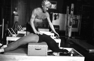 Photo of Joseph Pilates by permission of I.C. Rapoport ©