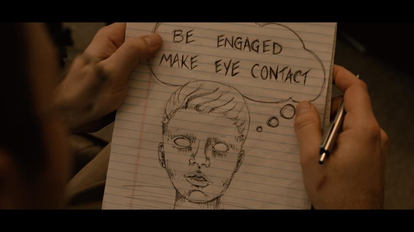 Screenshot from  Shrink  short film, January 2016
