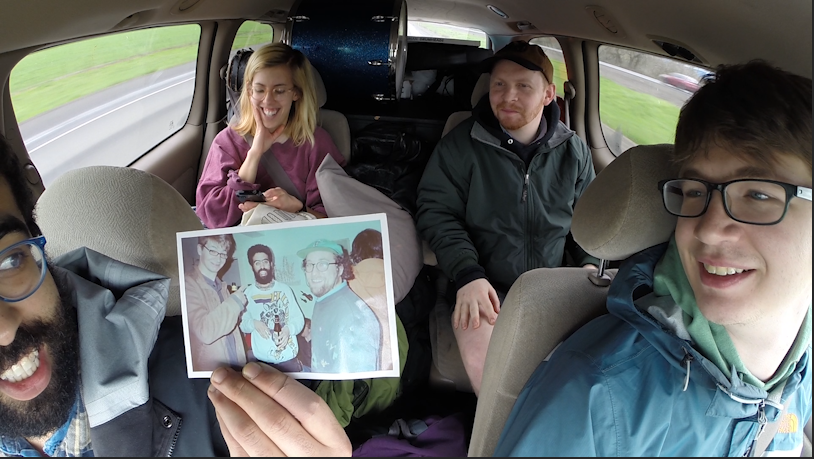 I mounted a GoPro inside my band's van while we toured to SXSW. Short documentary to come...