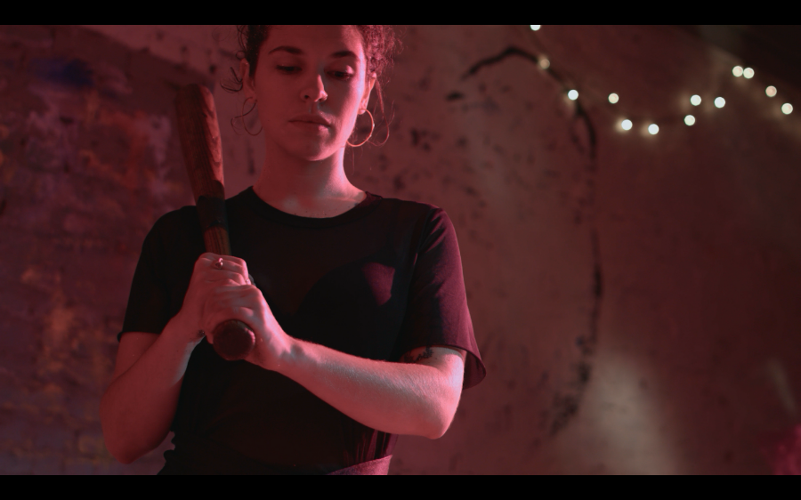 Screenshot from short film  Captivated  for the short film anthology 13 Chambers.