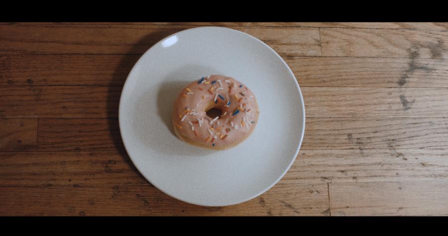 "Screenshot from music video ""Angel O"" by Neighbors, February 2016"