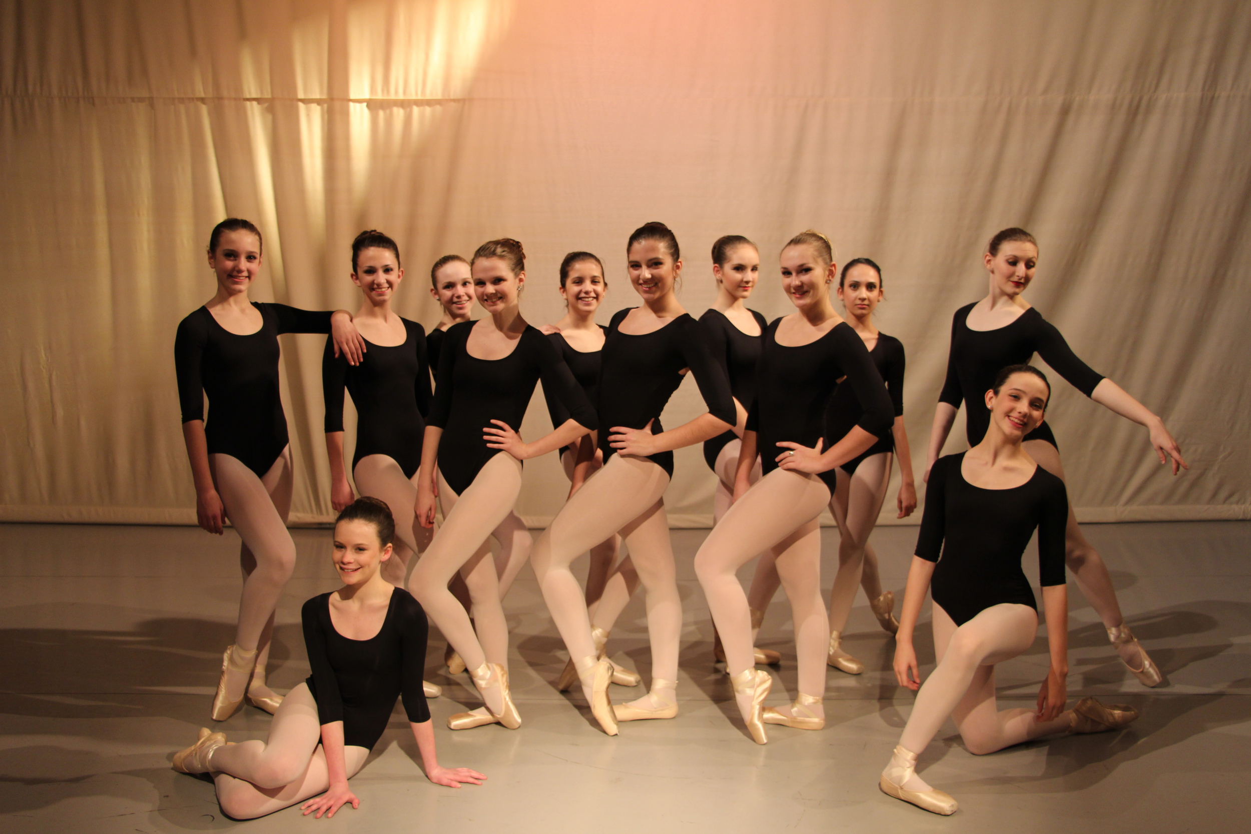 Students of DanceWest Ballet Company