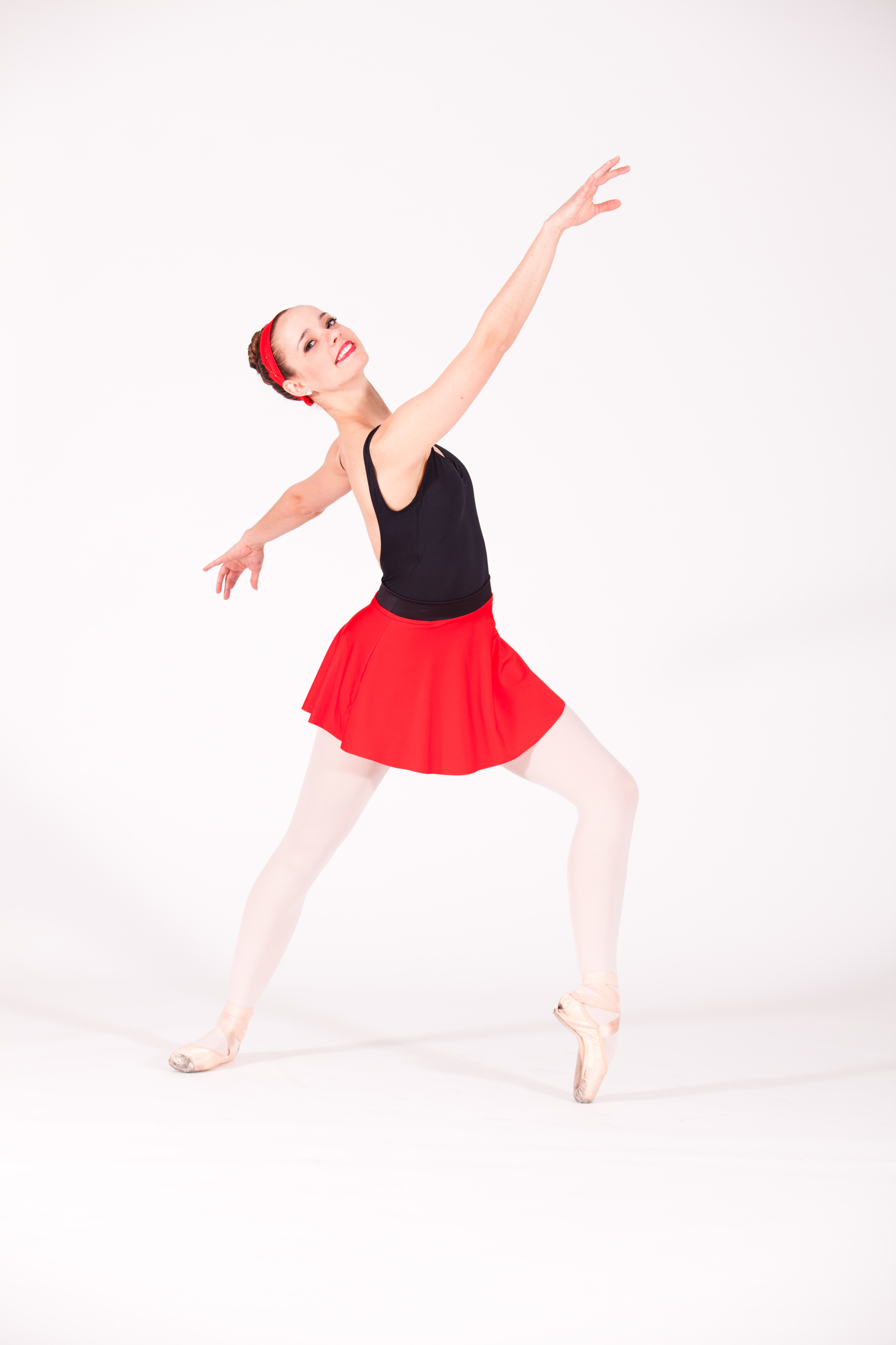 Brette Benedict as the Red Skirt Girl in M usings...OrDon't Take Yourself So Seriously.