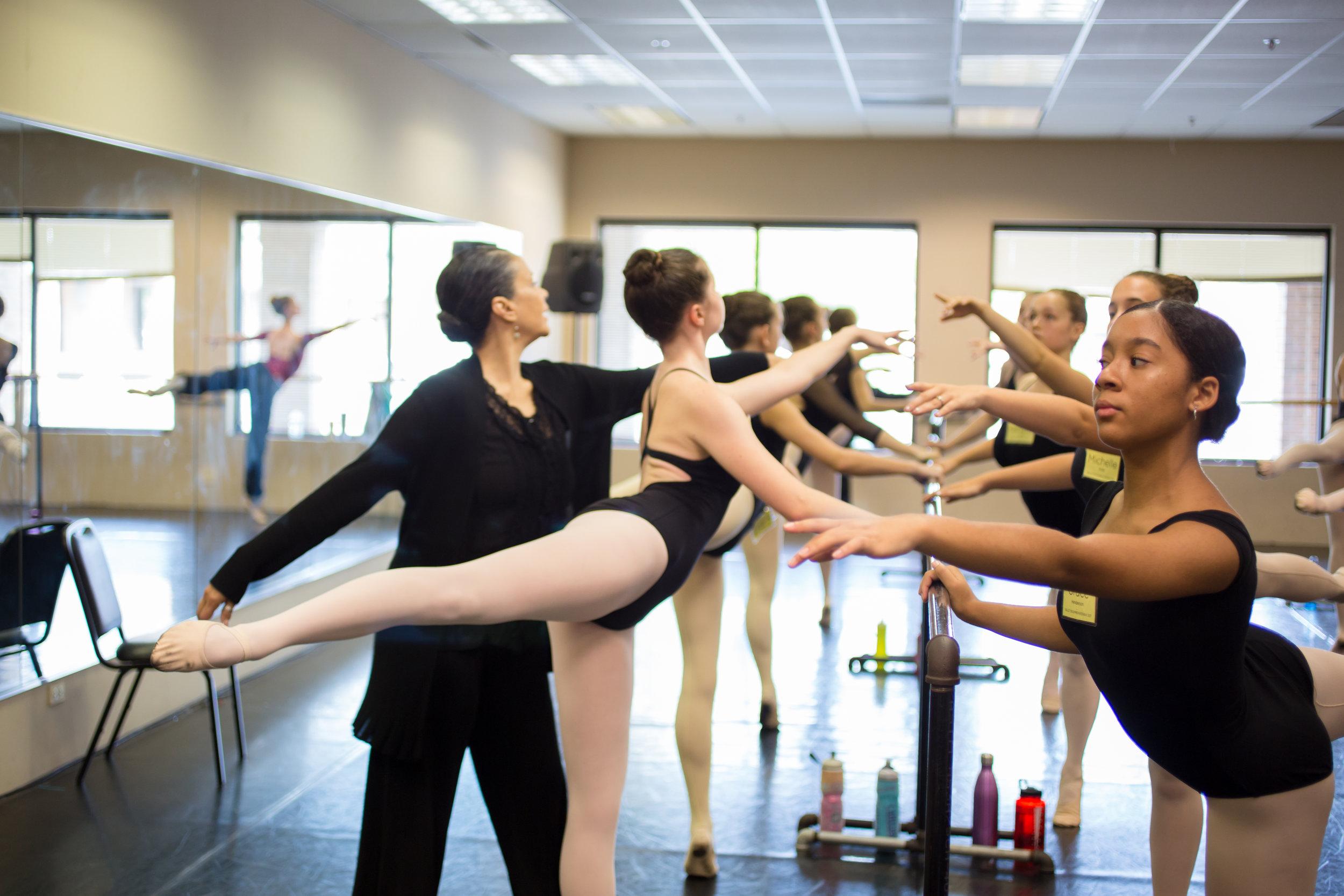 BALLET 5:8 MASTER CLASS - Advanced Classical Ballet Technique //Ages 14+