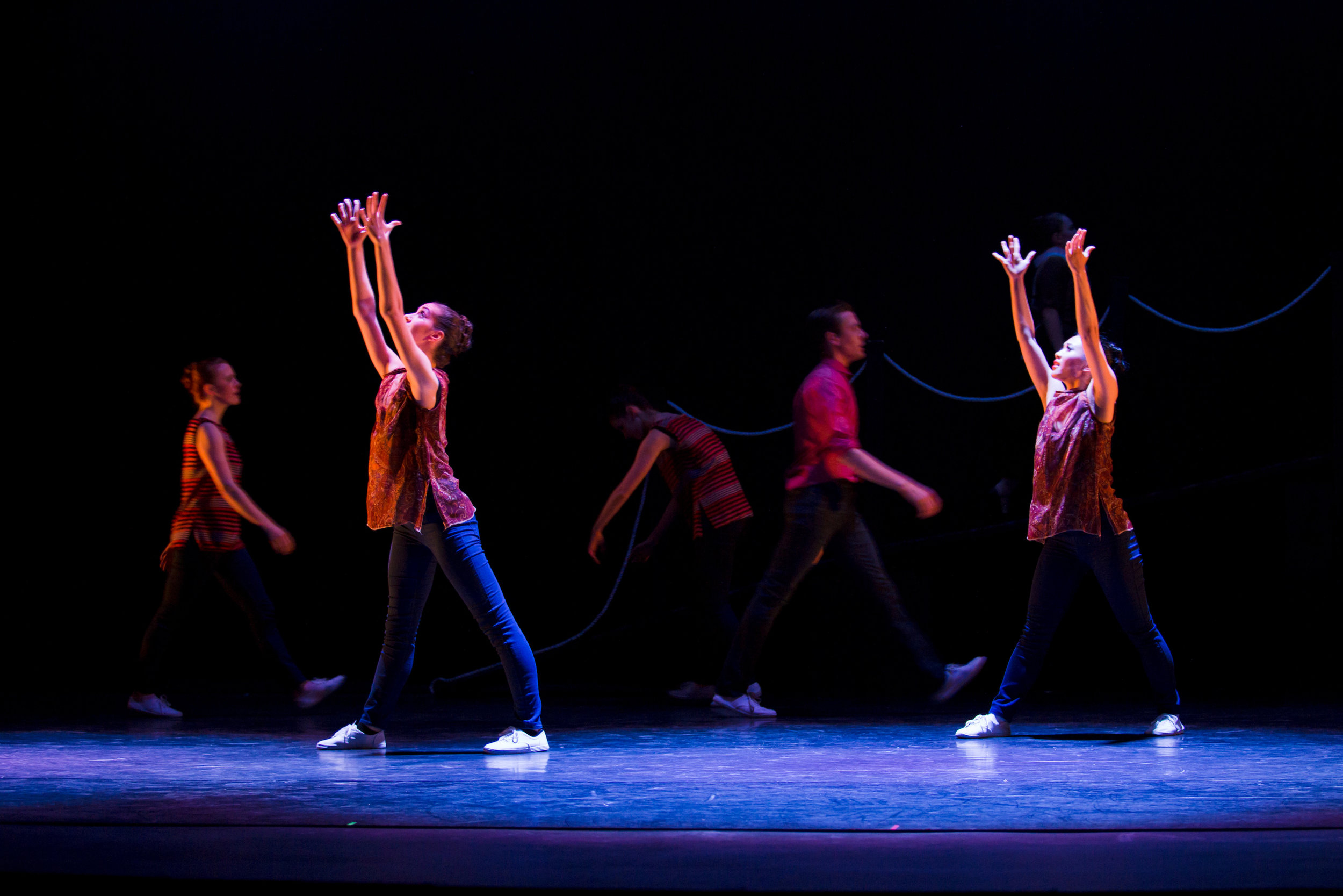 Artists of Ballet 5:8 in  Strangers and Angels  .