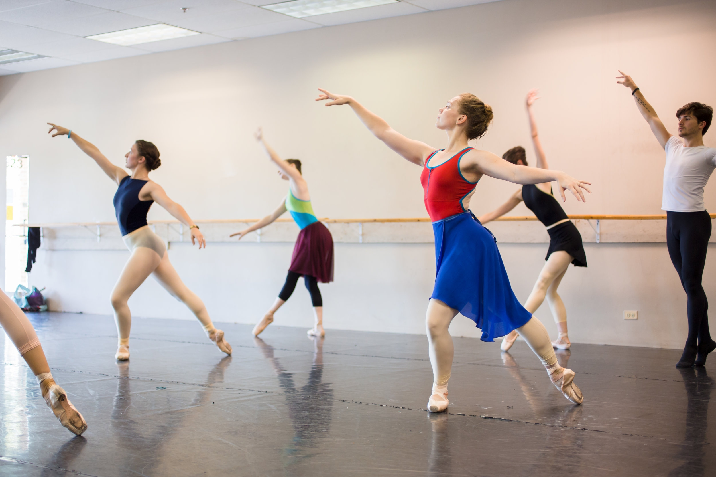 Company Artist Emily Ratkos in Winter from  Four Seasons of the Soul .