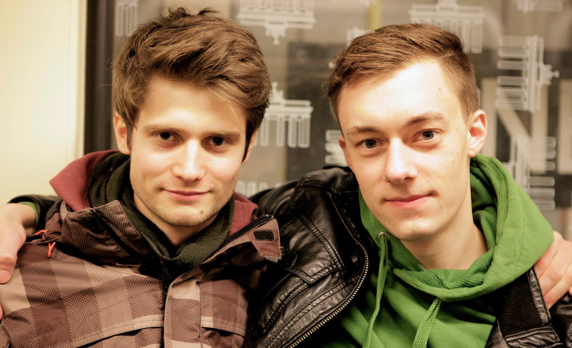 Martin Tholund und Manuel Salmann