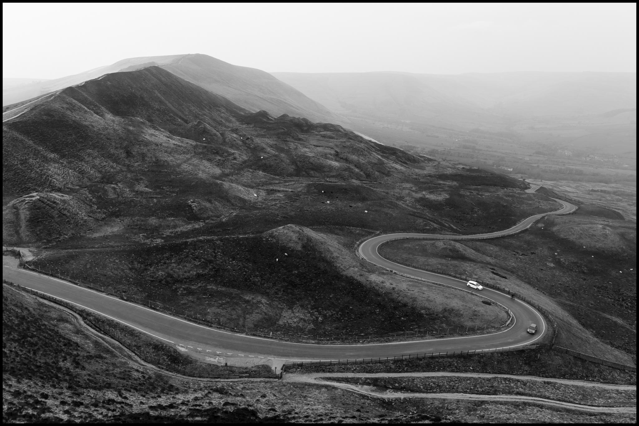 16 April 2019 - Winding Road, Dark Peak UK