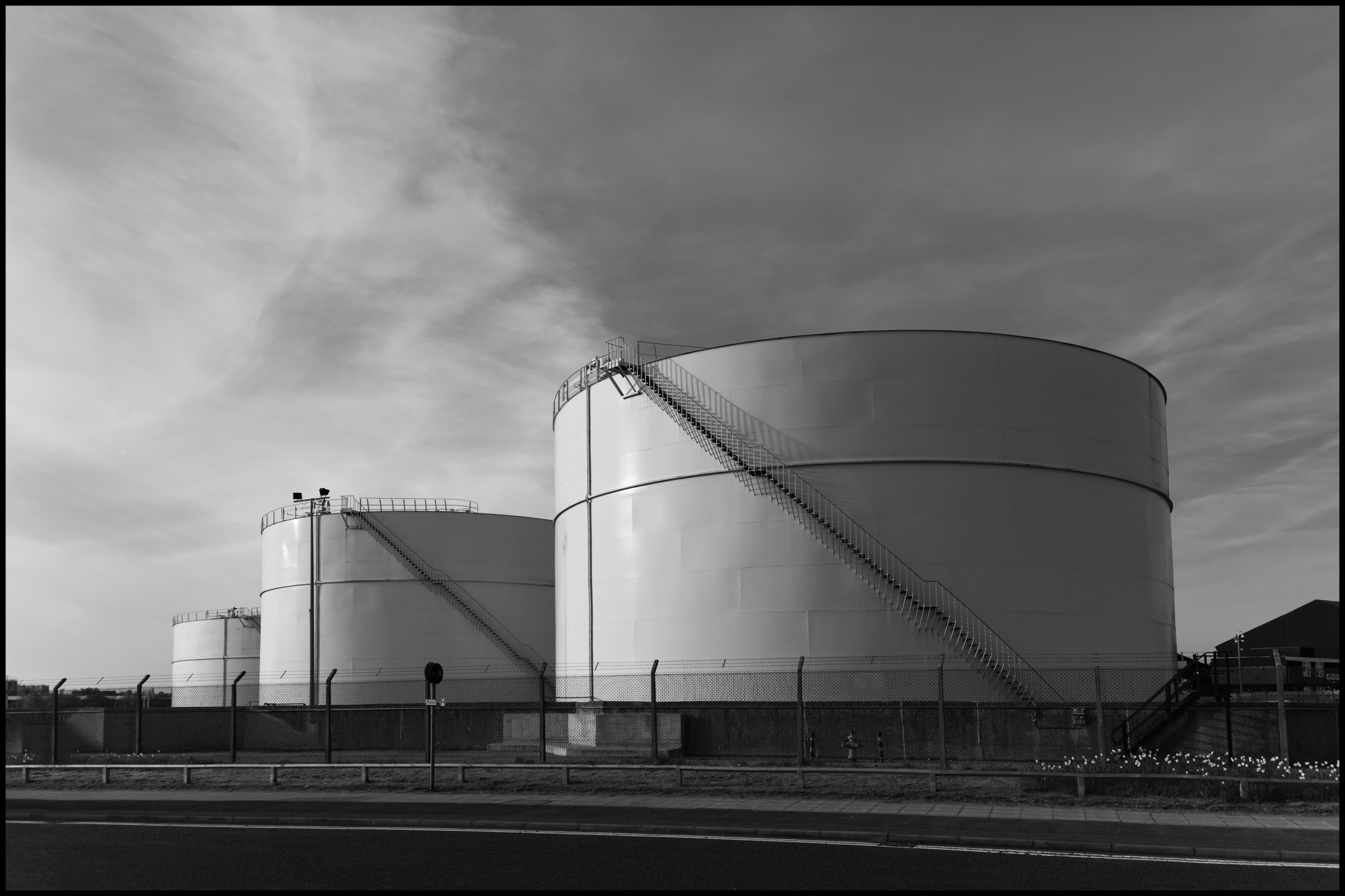21 April 2019 - Gas holders, Manchester UK