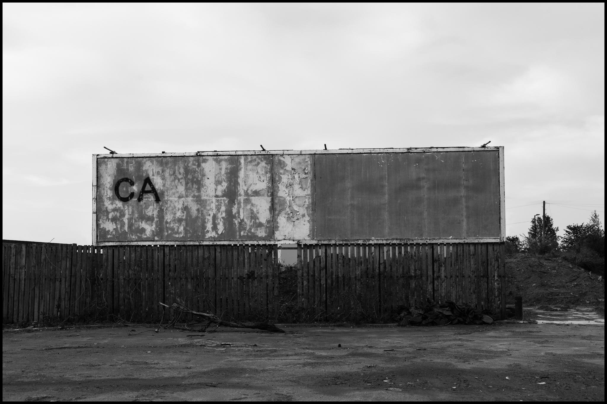 25 April 2019 - CA billboard, Manchester UK