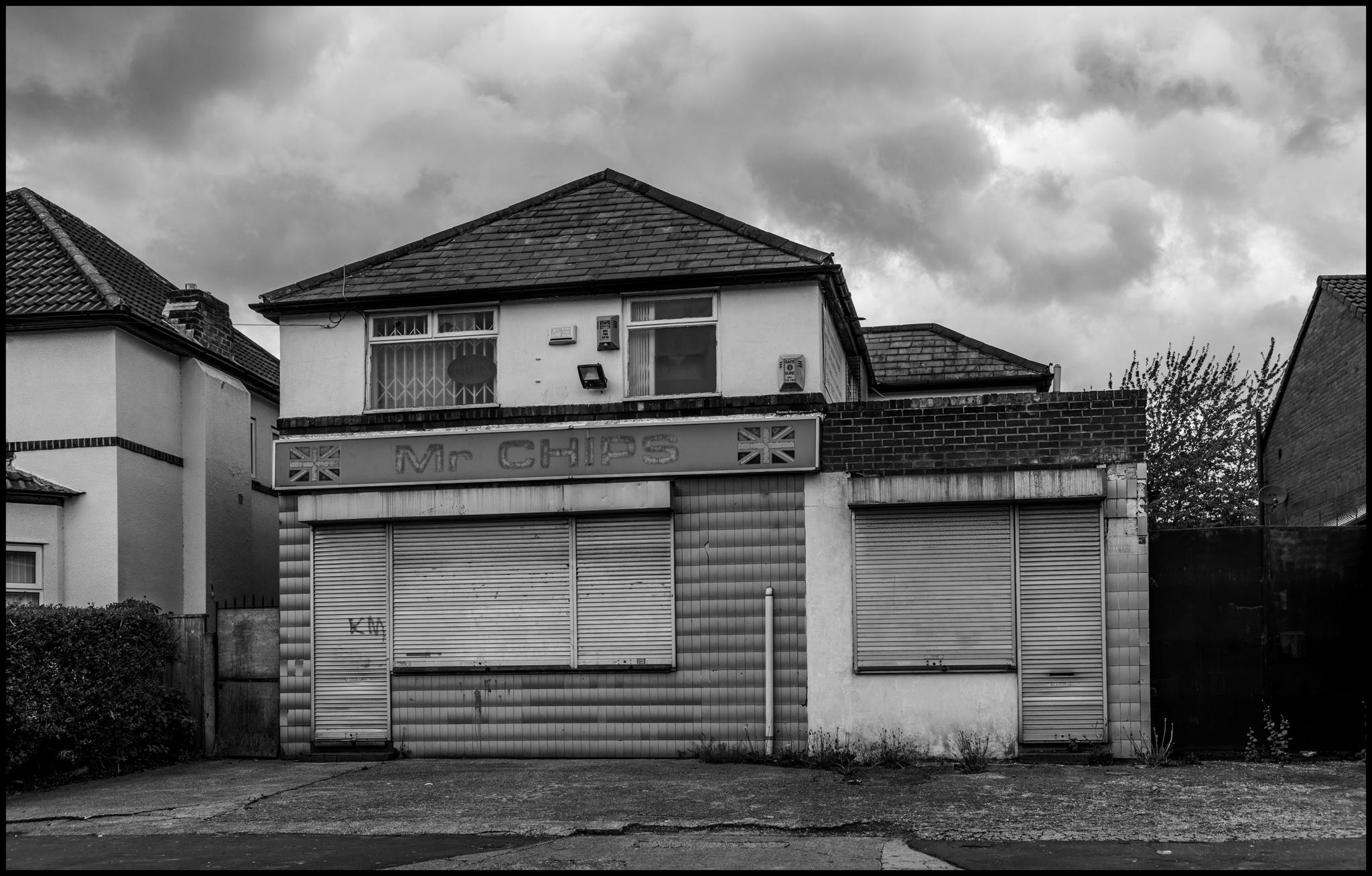 29 April 2019 - Mr Chips house, Manchester UK