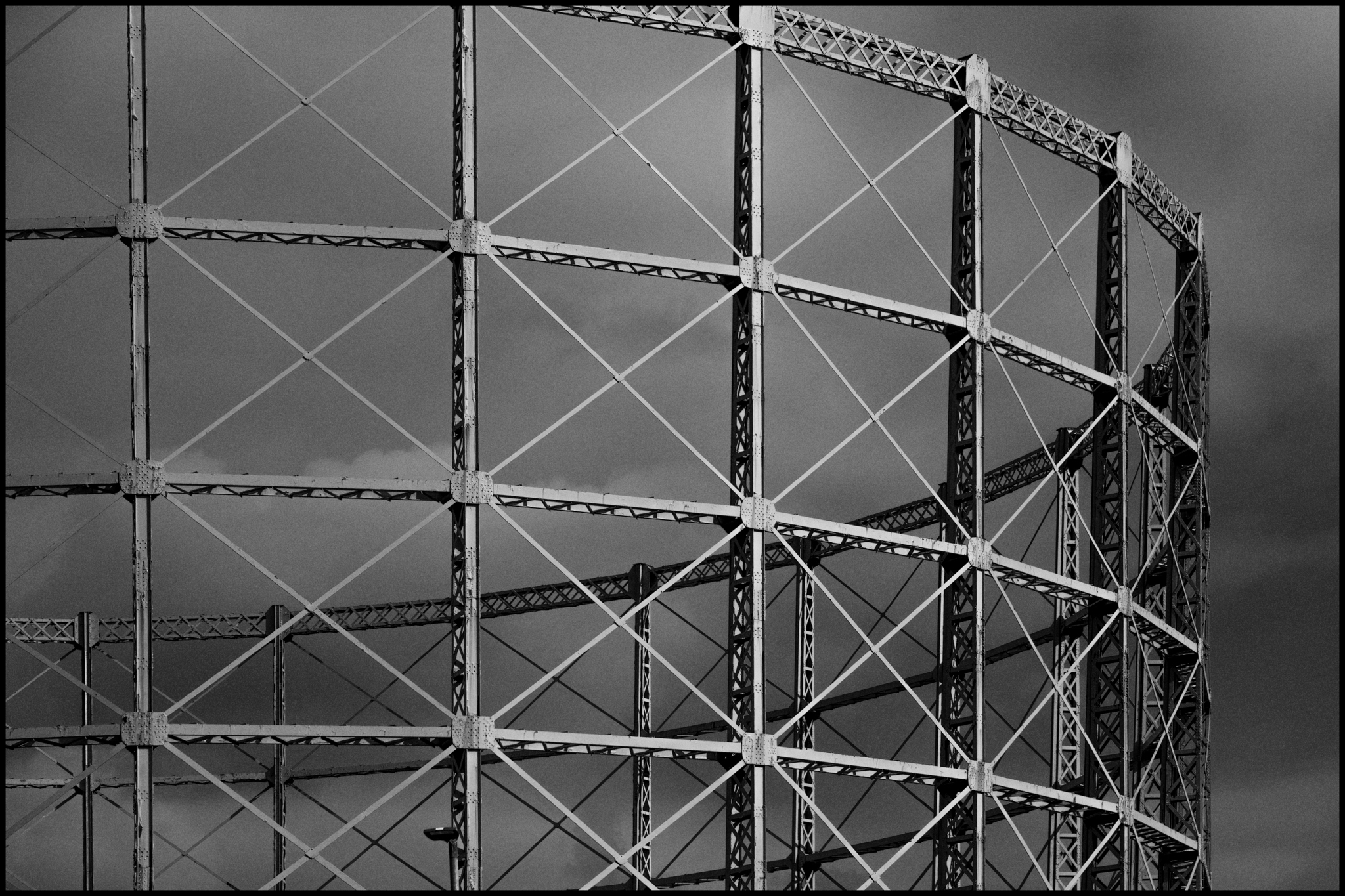 5 May 2019 - Gas holder construction, Manchester UK