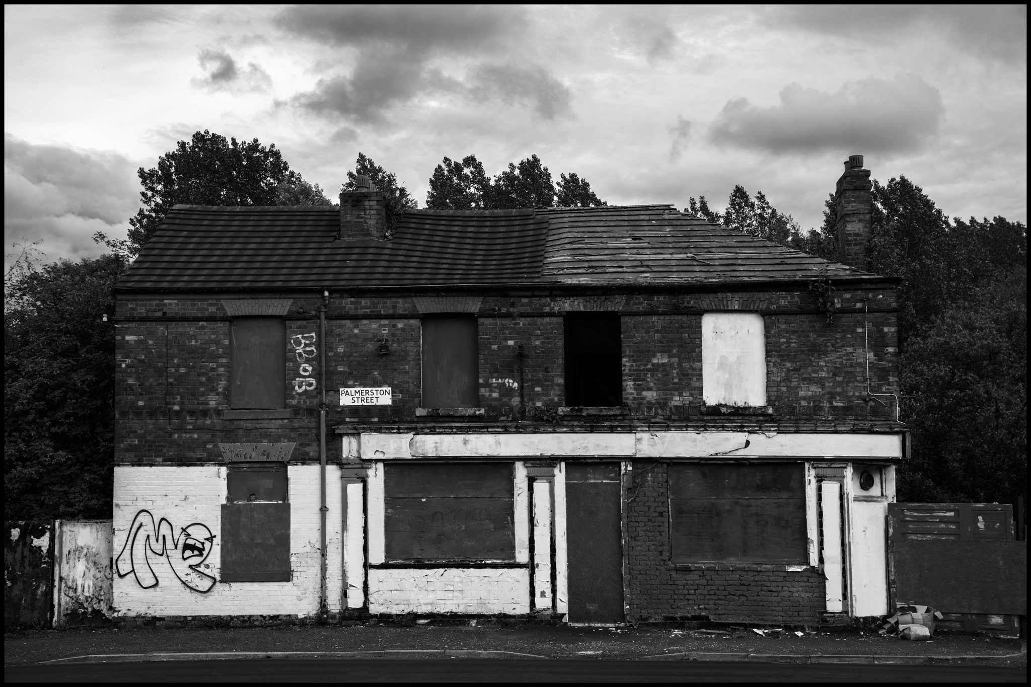 16 May 2019 - House on Palmerston street, Manchester UK
