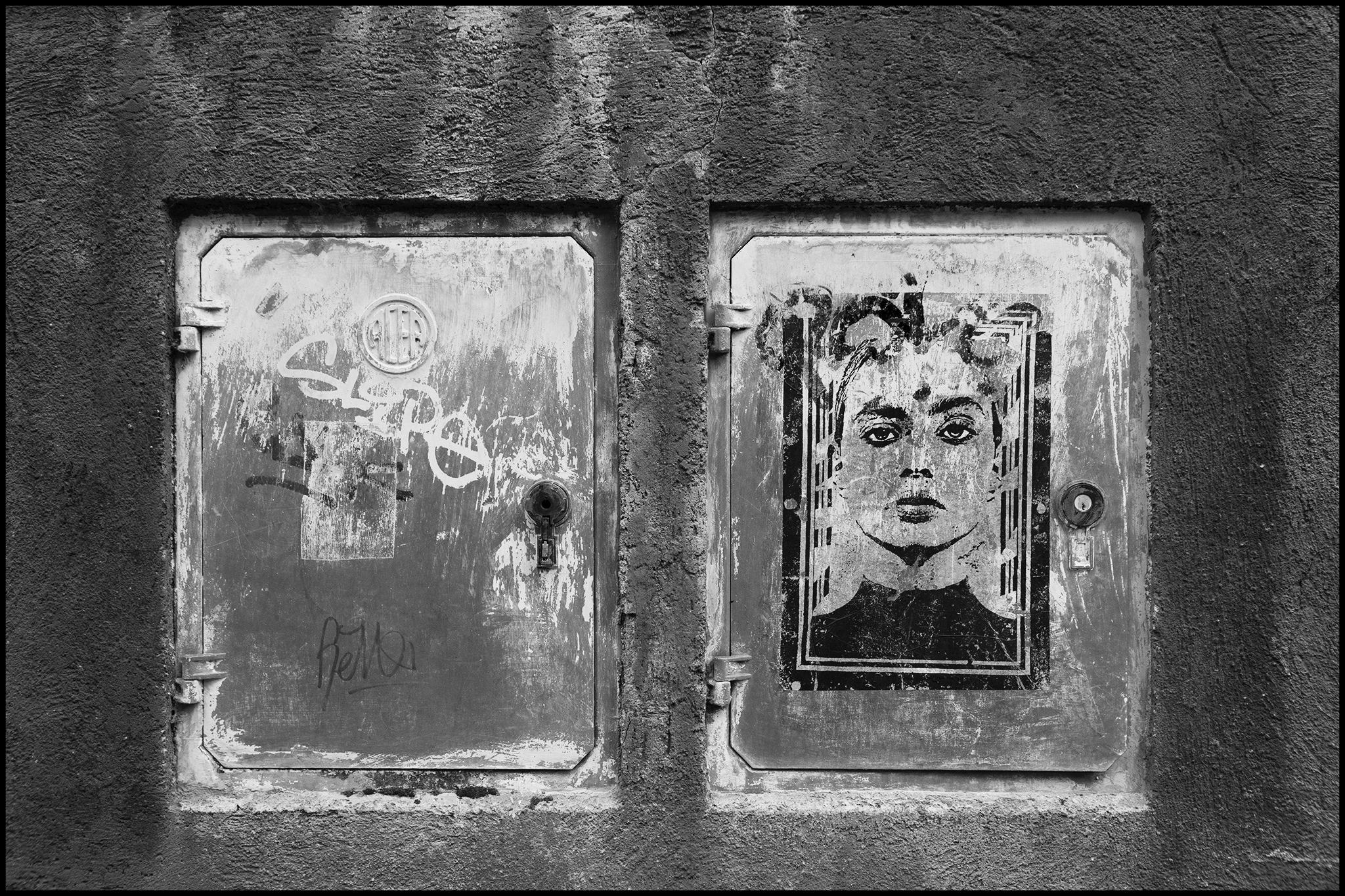 7 June 2019 - Street art, Rome IT