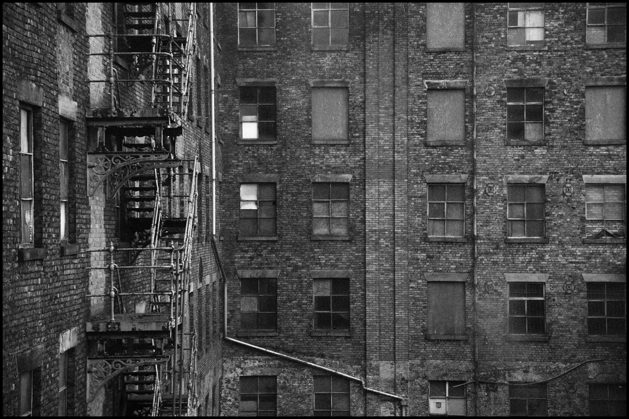 17 June 2019 - Bricks and windows, Manchester UK