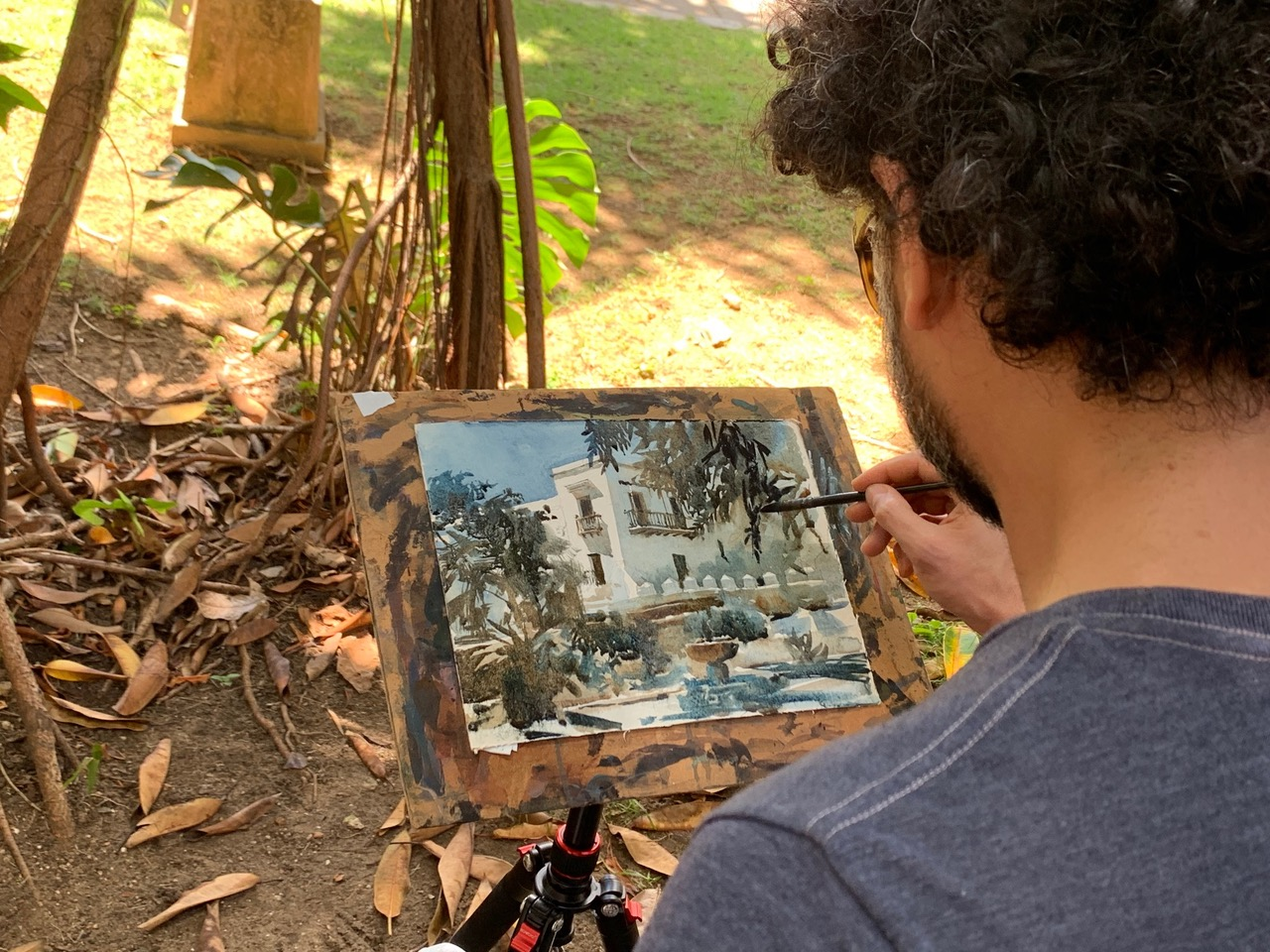 WORKSHOP: INTRO TO WATERCOLOR TECHNIQUES    INSTRUCTOR: MARCELO DALDOCE   July 25-28, 2019  10:00am-4:00  $450