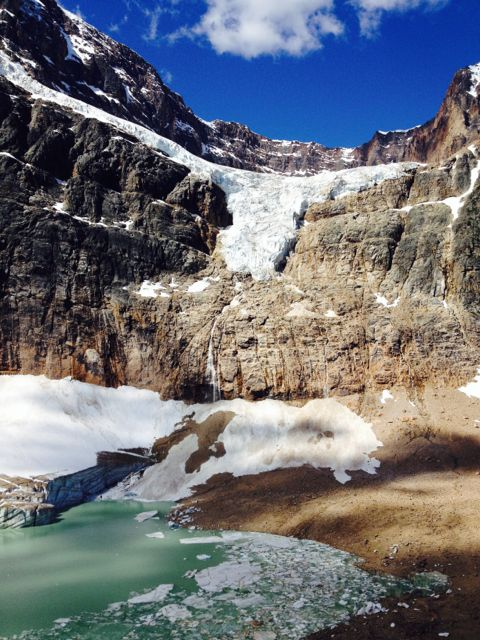 Angel Glacier from the Meadows trail