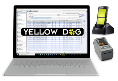 the core inventory software system provided by Yellow Dog Software