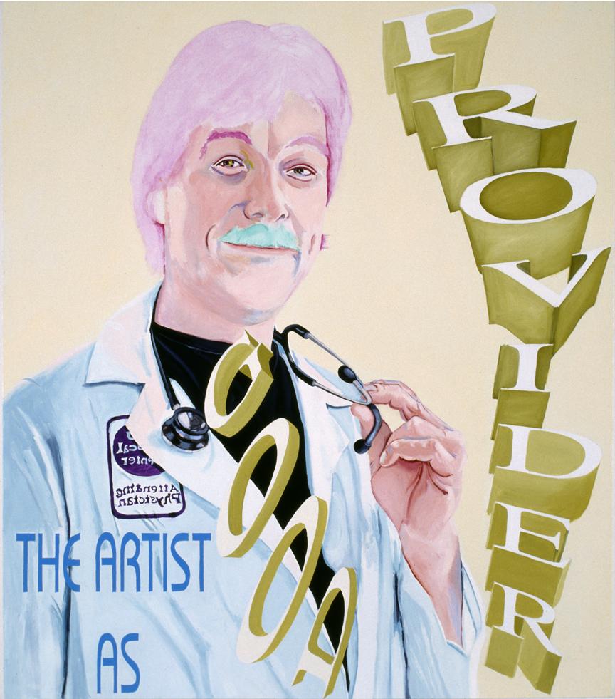 Artist as Good Provider #1