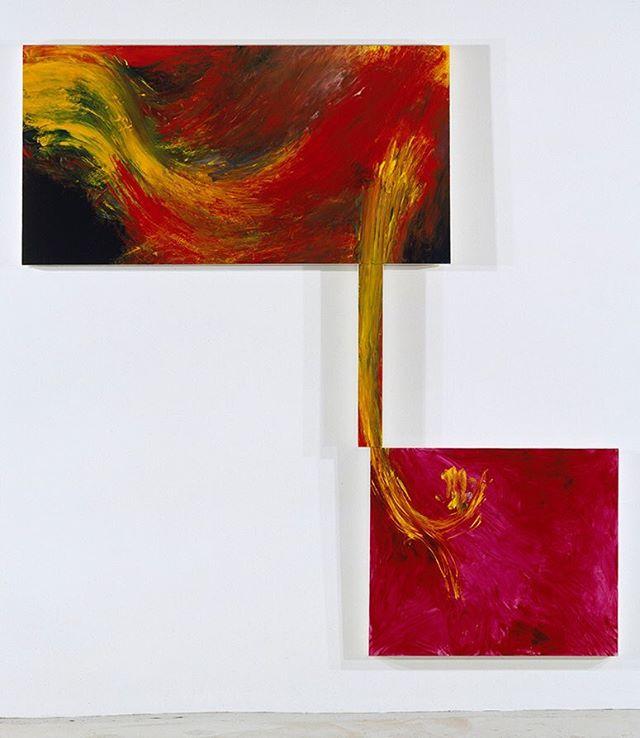 "arthur_cohen_artist ""Chiara"" 1990, oil on linen,  97 x 93 1/2 inches #nyartist #nycartist #nycart #art #artist #nycpainting #contemporaryart #contemporarypainting #brooklyn #berlinart #losangelesart #abstractpainting #arthurcohen"