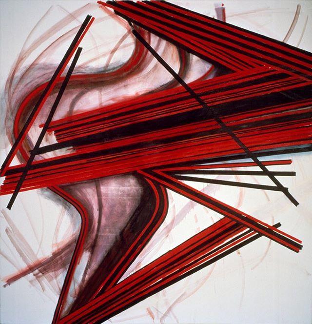 arthur_cohen_artist  untitled 1982, oil on canvas,  111 x108 inches  #nyartist #nycartist # nycart #art #artist #nycpainting #contemporaryart #contemporarypainting #brooklyn #berlinart #losangelesart #abstractpainting #arthurcohen