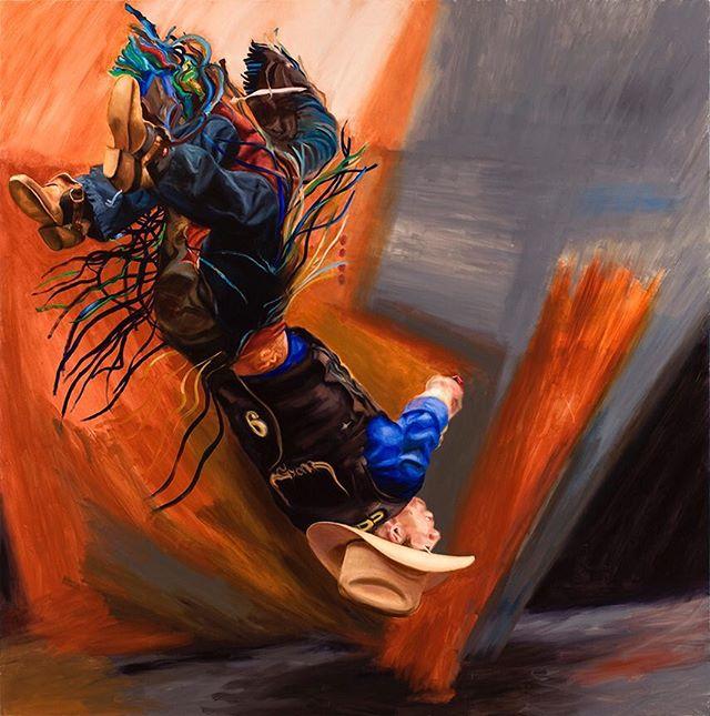 "arthur_cohen_artist ""Abstract Hero"" 2011, oil on linen, 111 x 110 inches.  #nyartist #nycart #art #artist #nycpainting #contemporarypainting #contemporaryart #abstractpainting #brooklynart #berlinart #losangelesart #arthurcohen"
