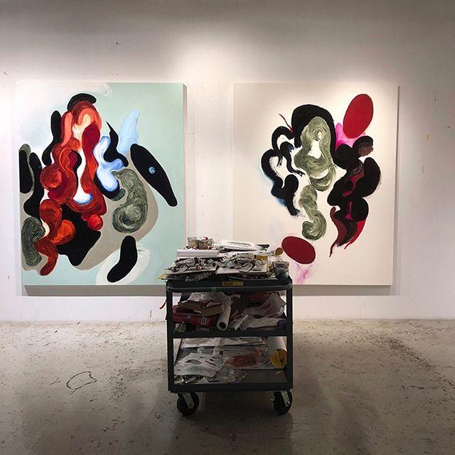 arthur_cohen_artist  #nyartist #nycart #art #artist #nycpainting #contemporarypainting #contemporaryart #brooklyn #berlinart #losangelesart #abstractpainting #arthurcohen