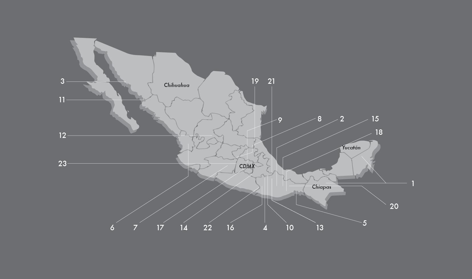 Mapa lenguas maguey