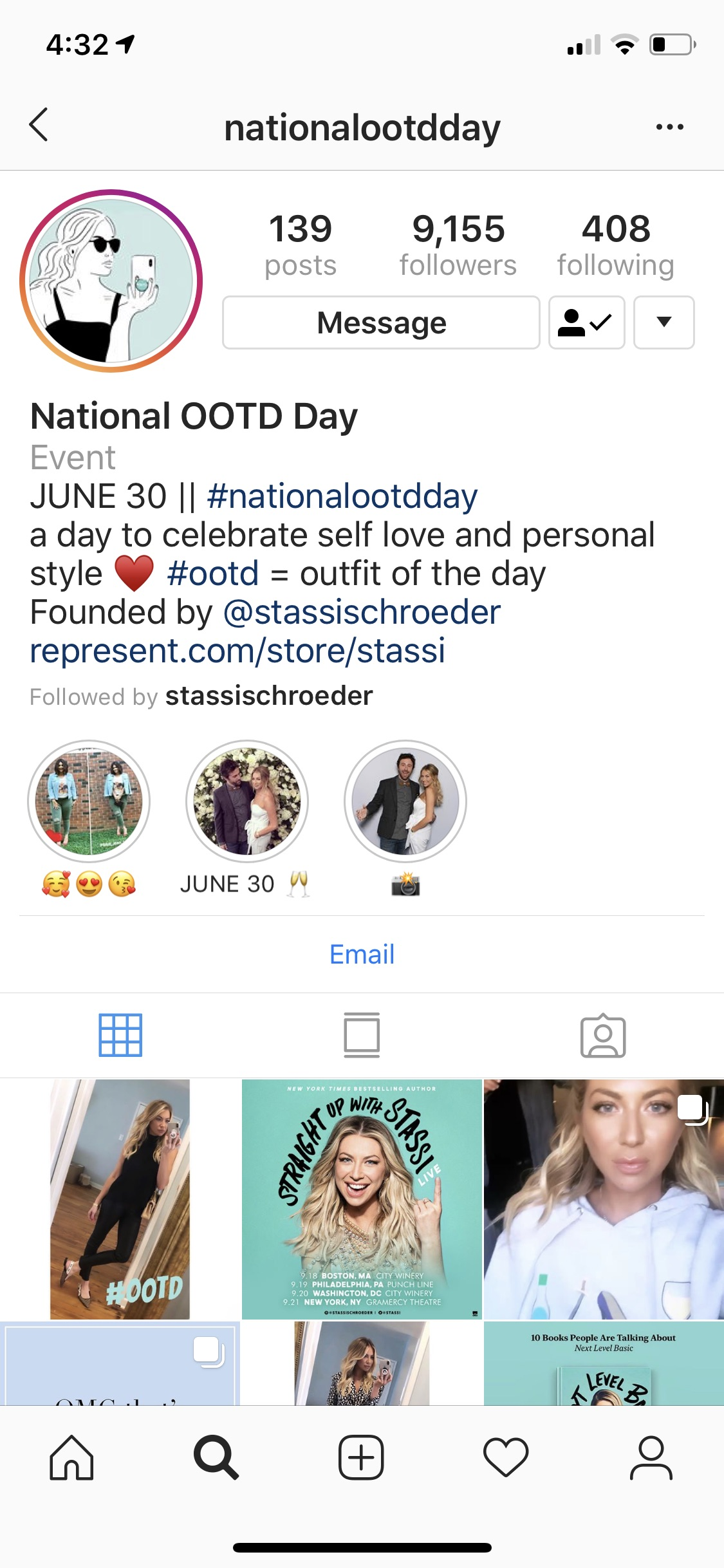 So, on this particular Vanderpump Rules episode Stassi revealed that she had turned #ootd into an actual annual national holiday. - As a D list fashion blogger I am very familiar with using #ootd in my posts, BUT not everybody gets what it means.