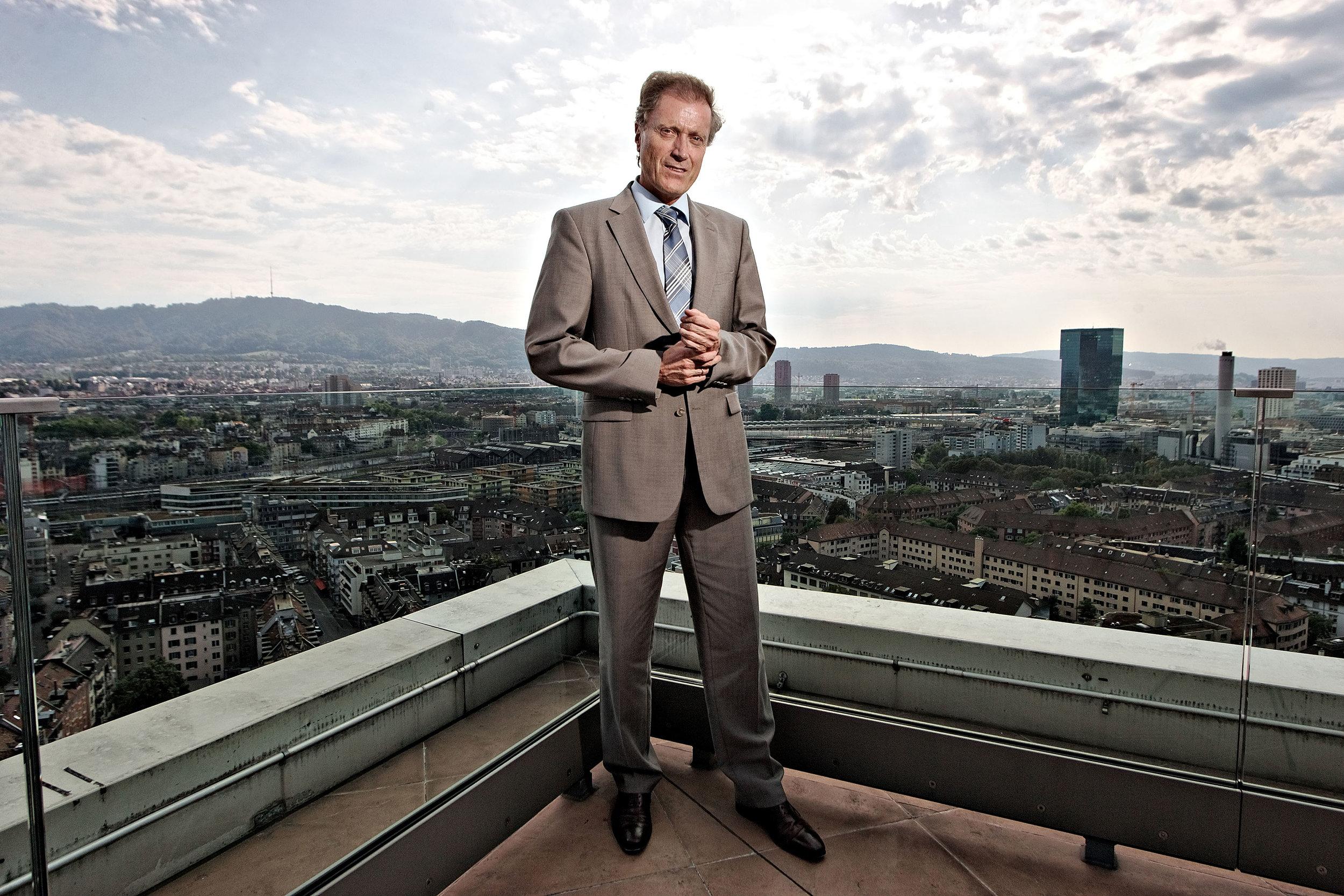 Herbert Bolliger, Chef Migros - SonntagsZeitung - 2011