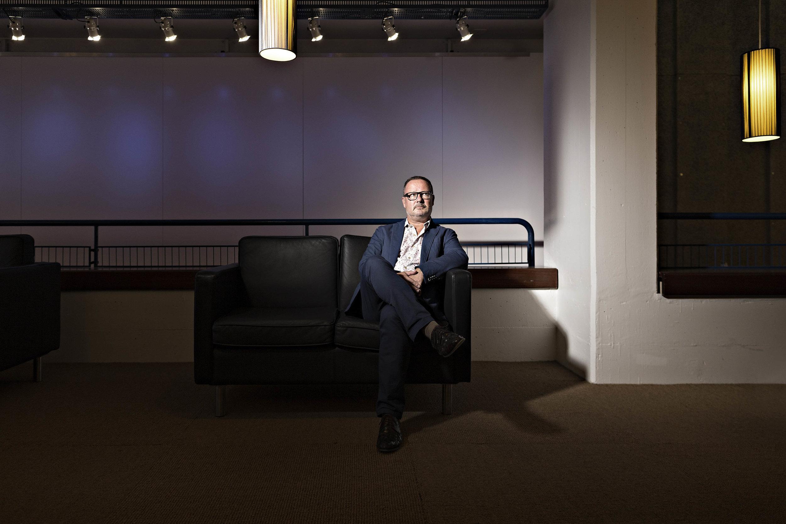 Andreas Beck, Intendant des Theaters Basel - SonntagsBlick Magazin - 2017